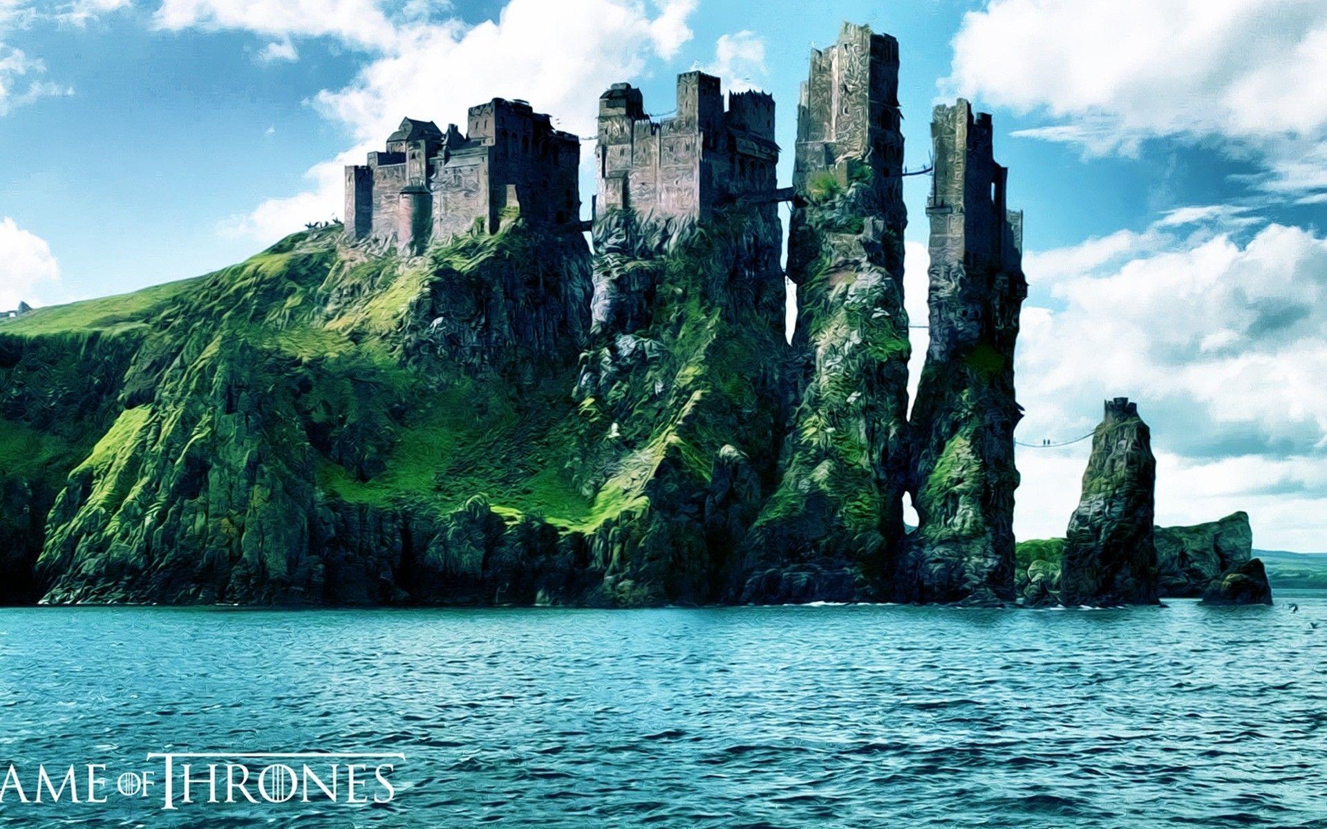 Game of Thrones landscape art