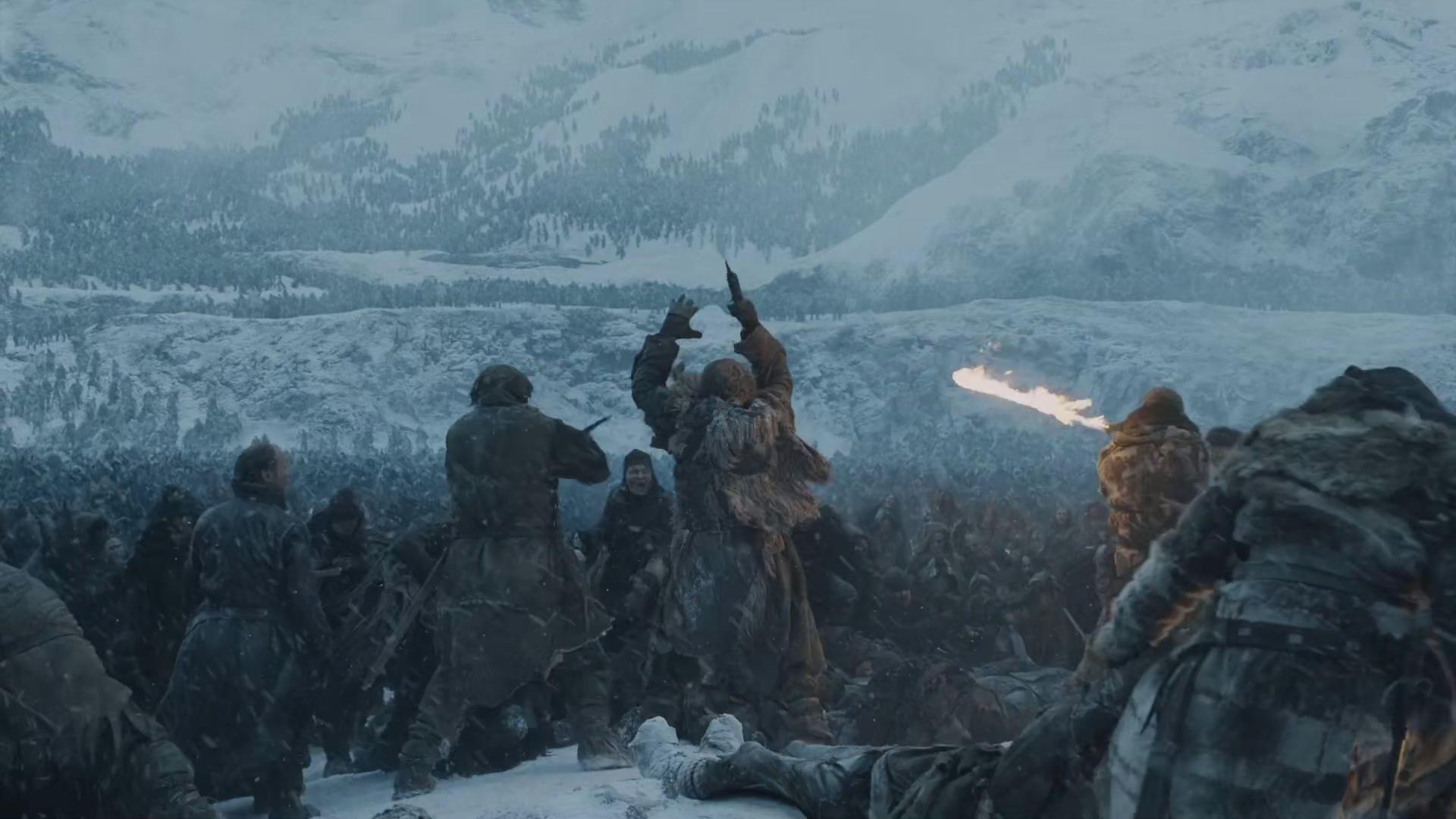Game of Thrones landscape war