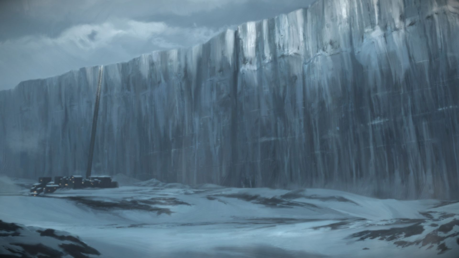 Game of Thrones landscape art wall