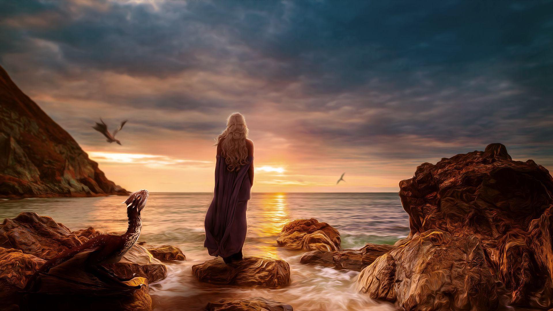 Game of Thrones landscape sea