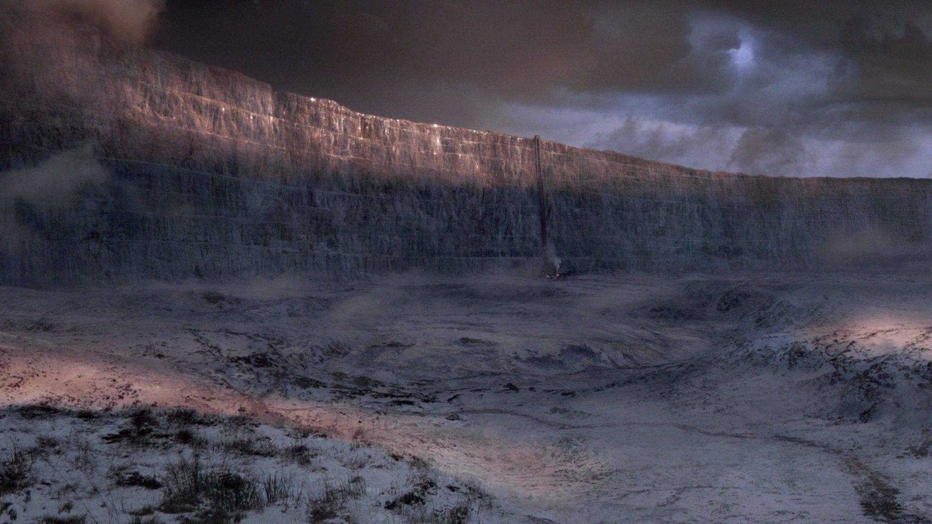 Game of Thrones landscape winter wall