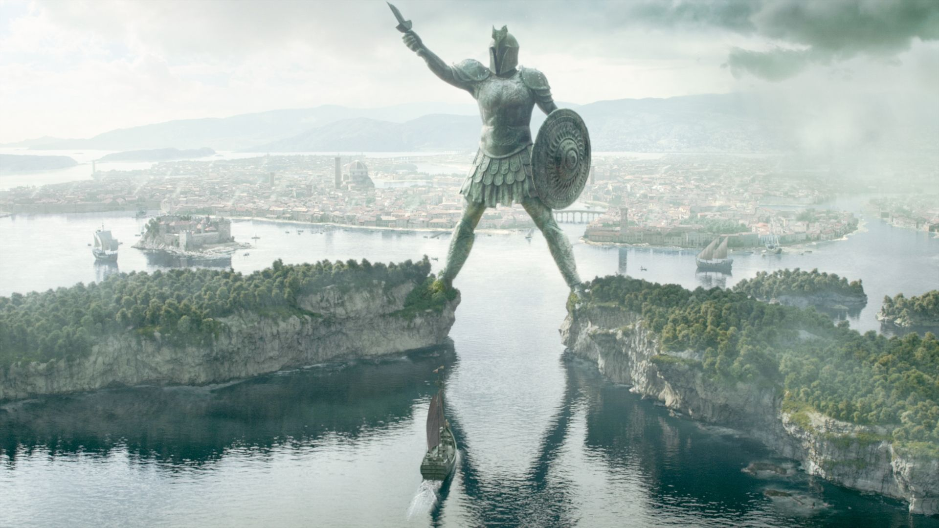 Game of Thrones landscape the statue