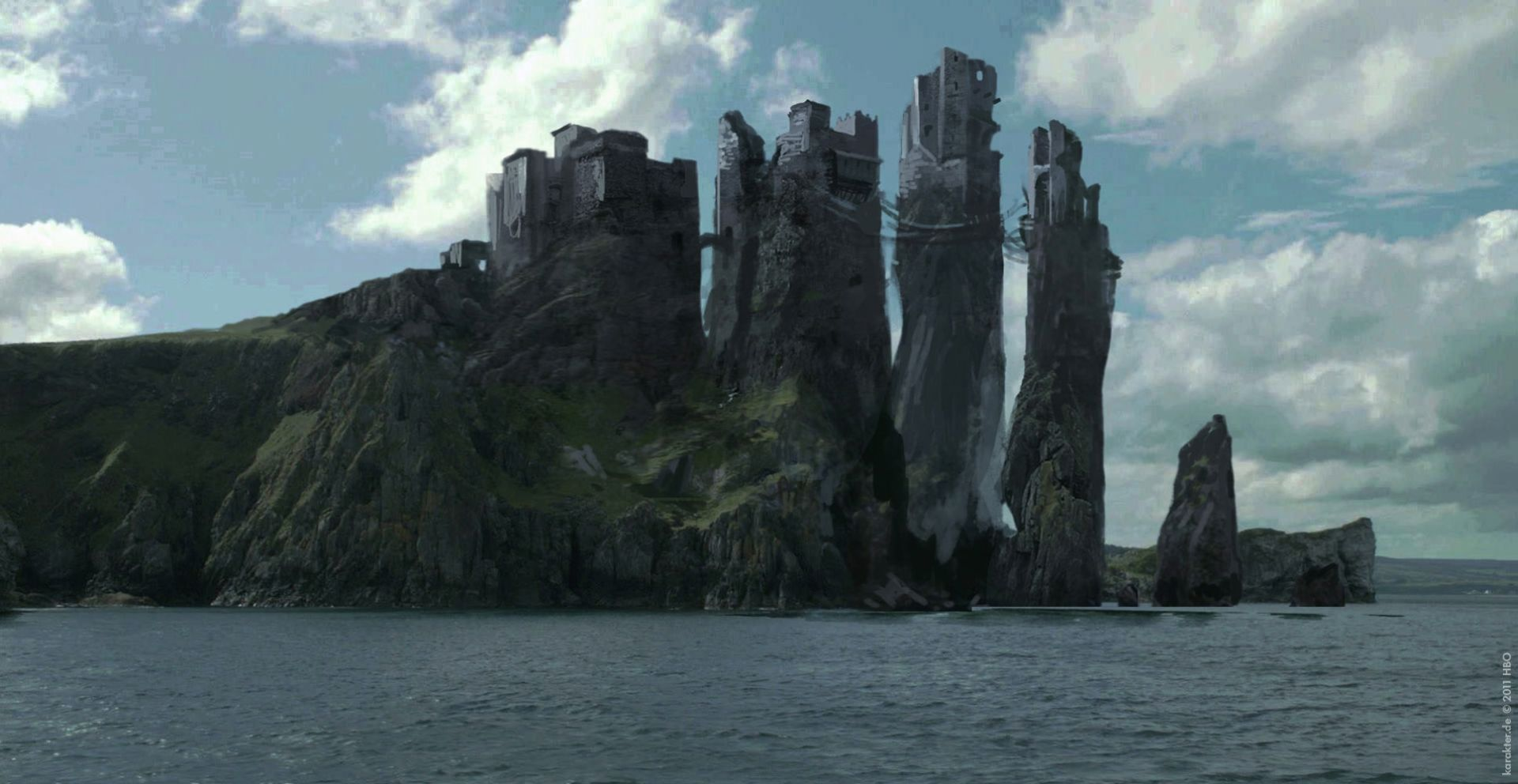 Game of Thrones landscape islands and castle