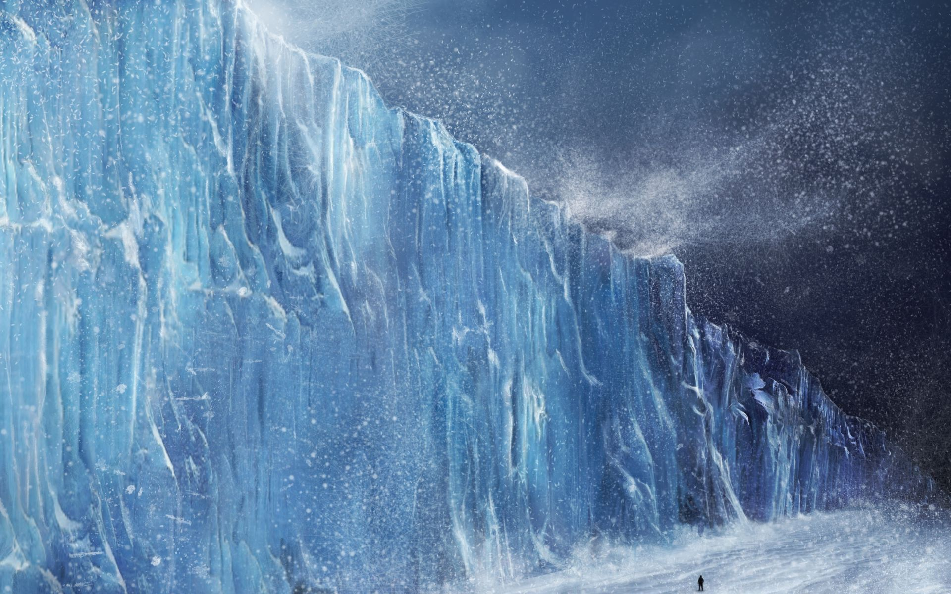 Game of Thrones landscape wall
