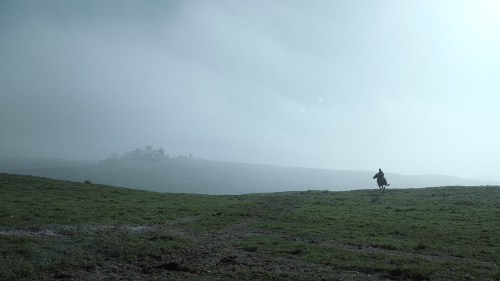 Game of Thrones landscape hill