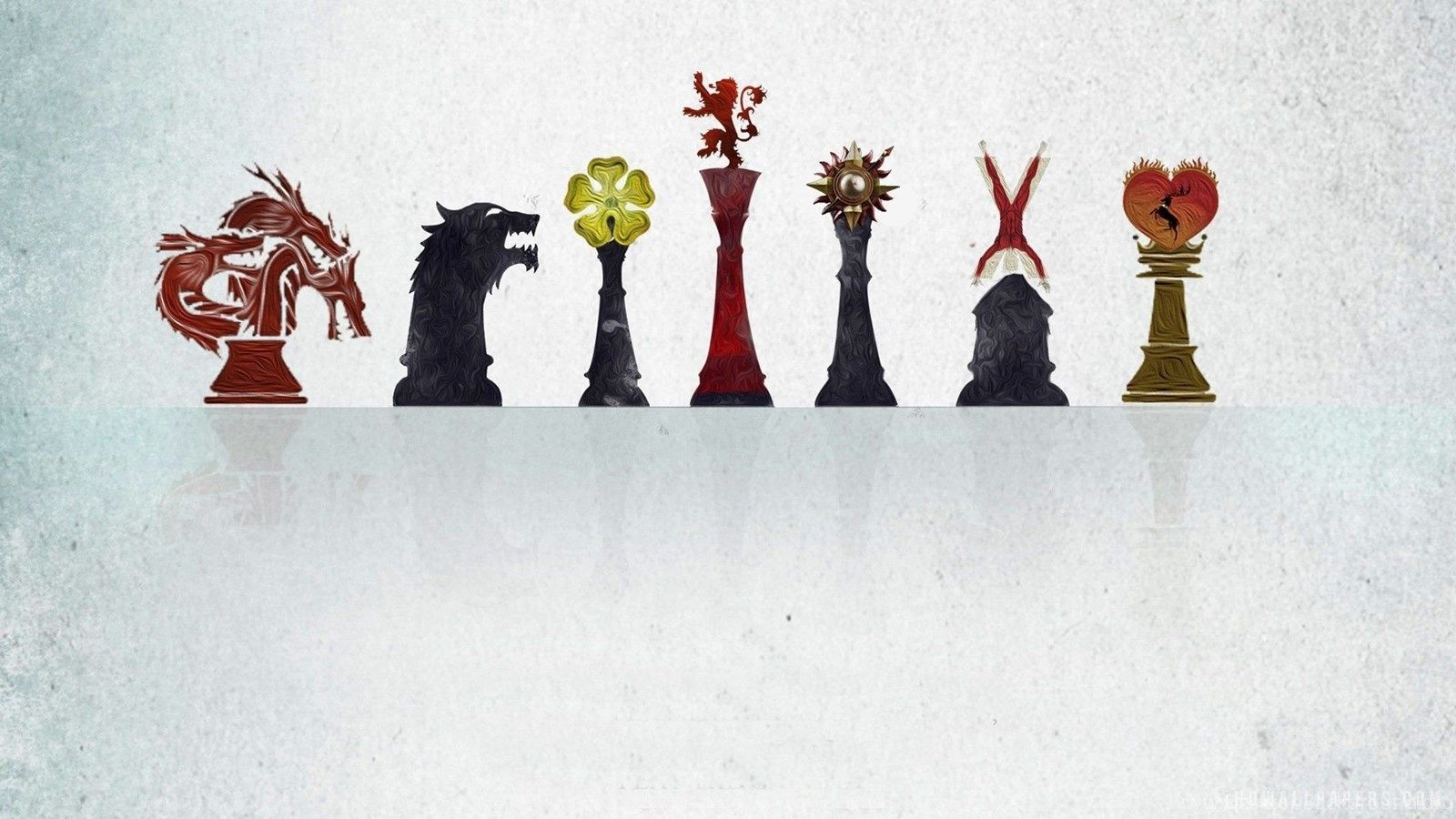 Game of Thrones Sigils chess