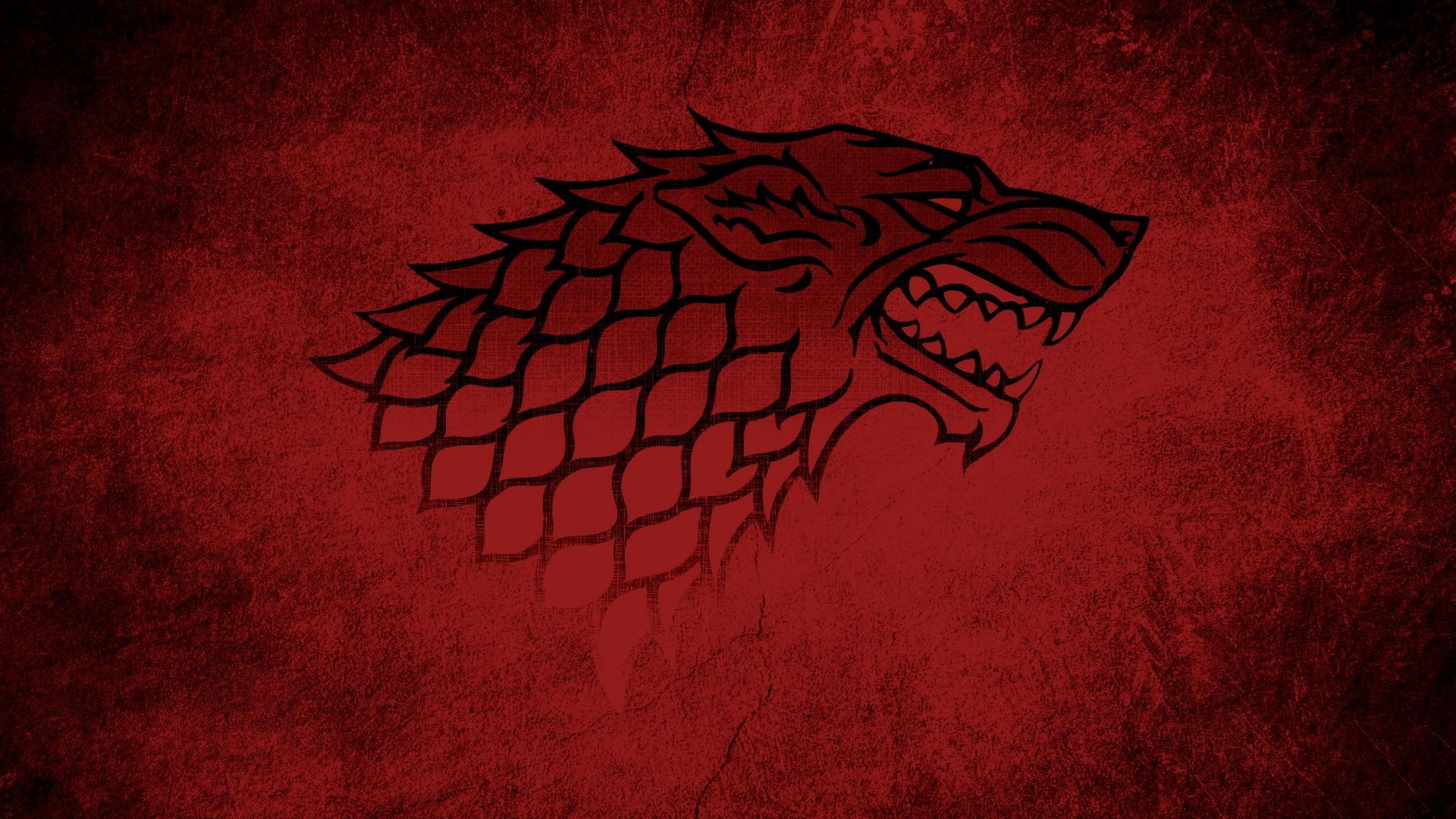 Game of Thrones Red Sigil House Stark