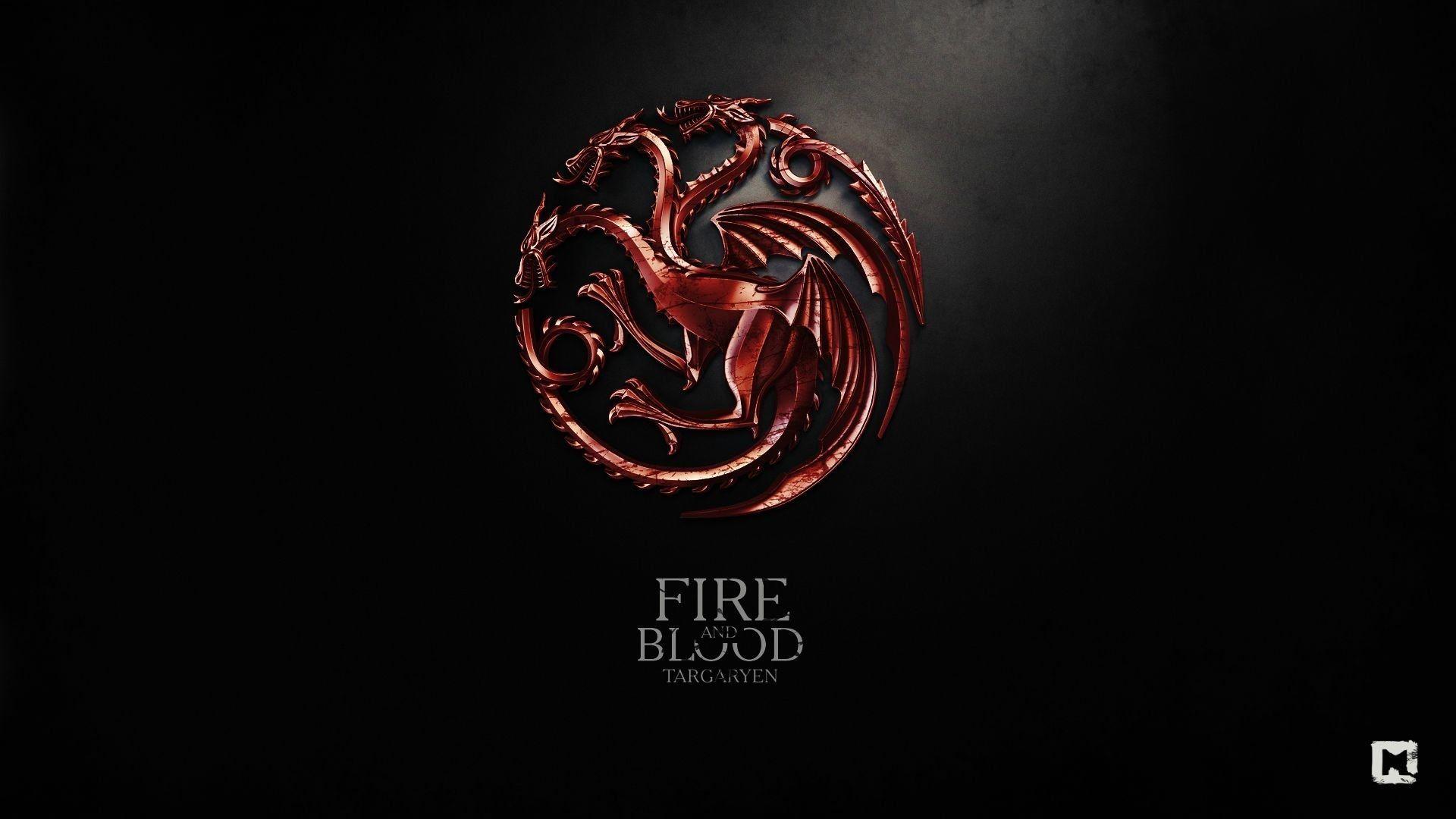 Game of Thrones Sigil House Targaryen
