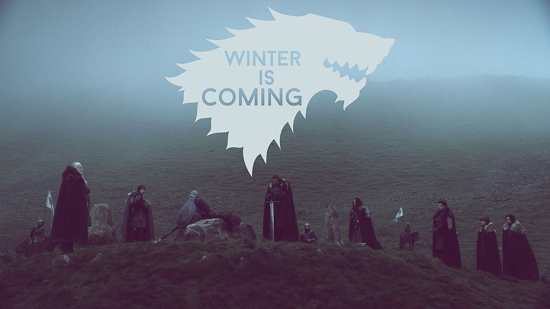 Game of Thrones Red Sigil House Stark Wallpaper
