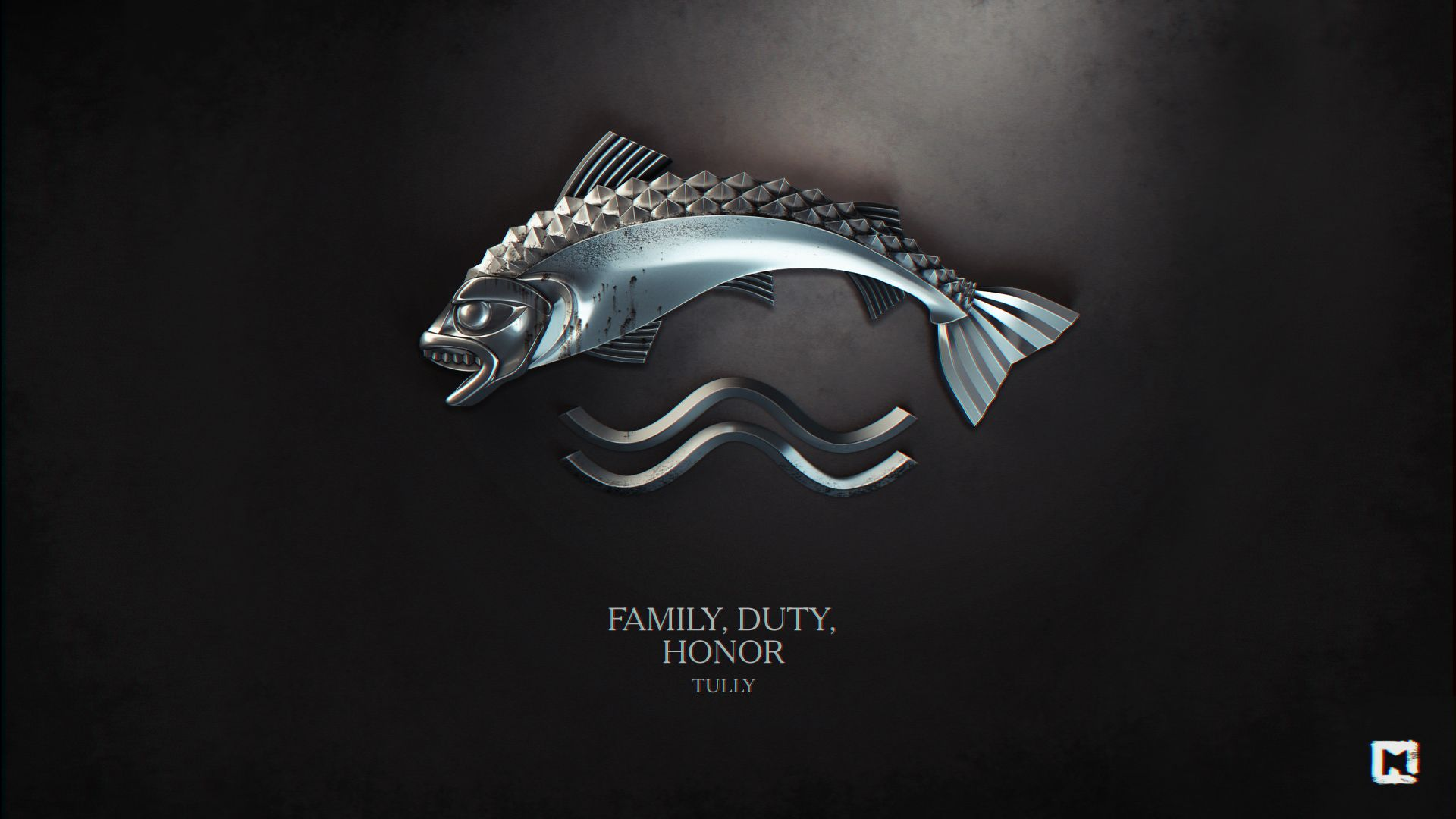 Game of Thrones Sigil House Tully