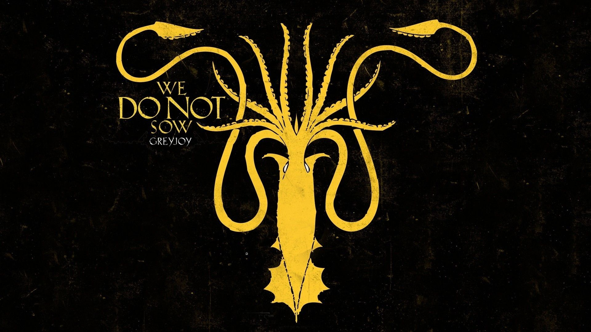 Game of Thrones Sigil House Greyjoy