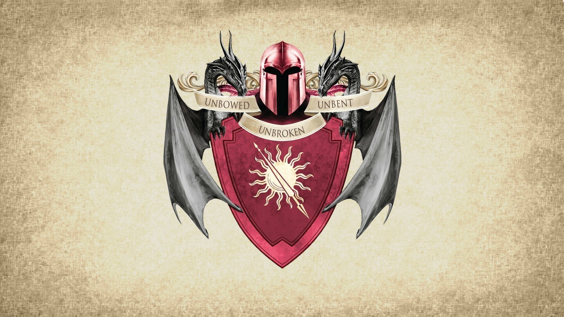 Game of Thrones Sigil House Martel Banner