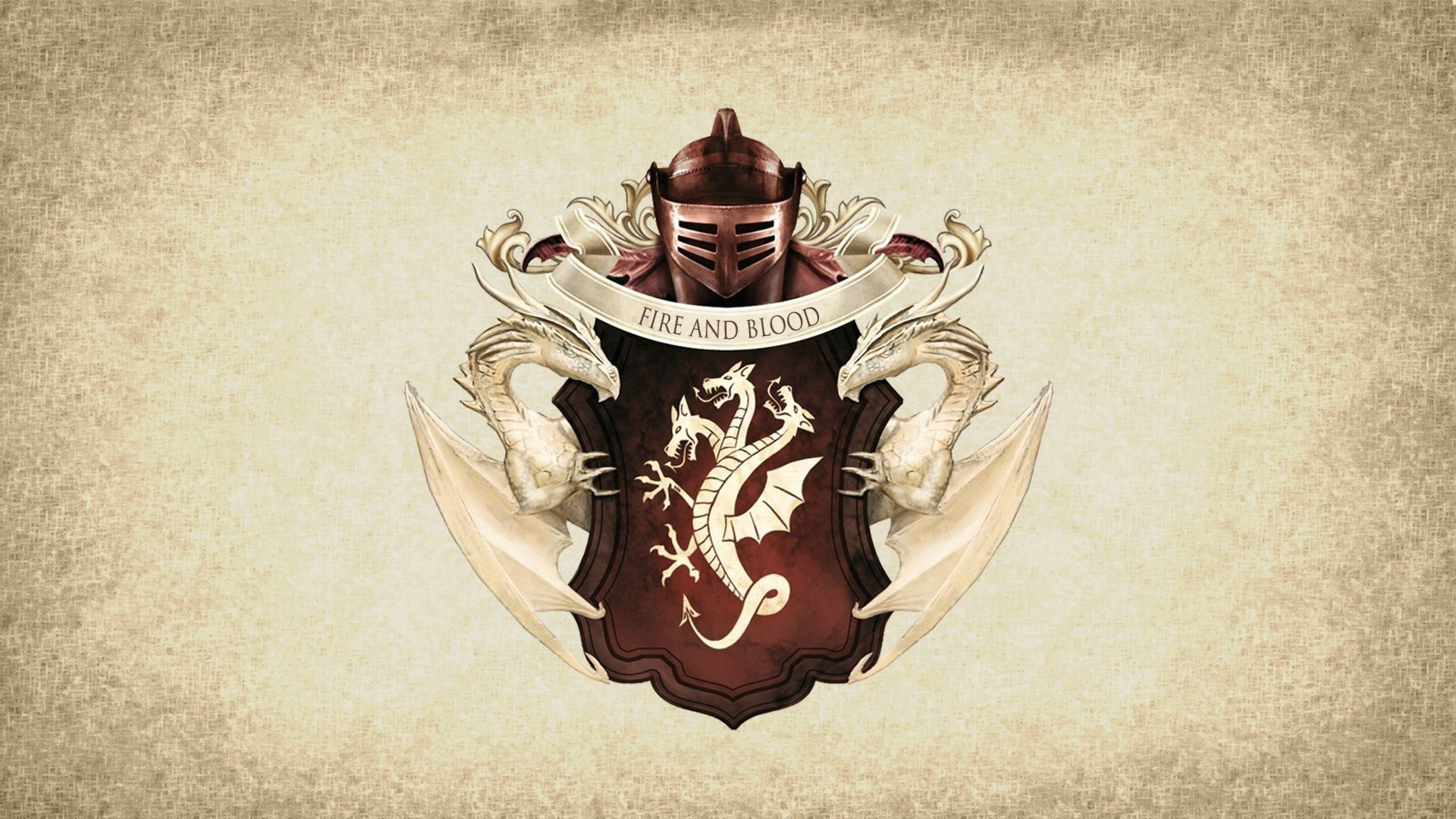 Game of Thrones Red Sigil House Targaryen Banner