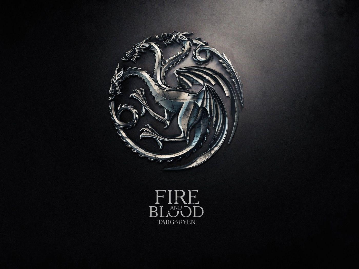 Game of Thrones Red Sigil House Targaryen