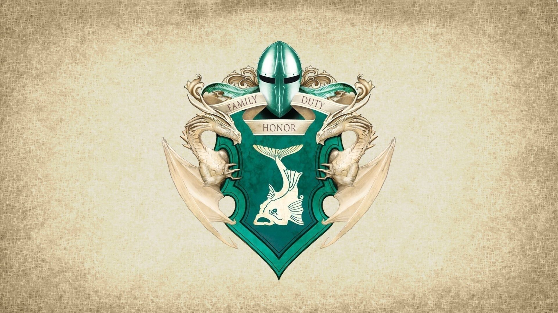 Game of Thrones Sigil House Tully Banner