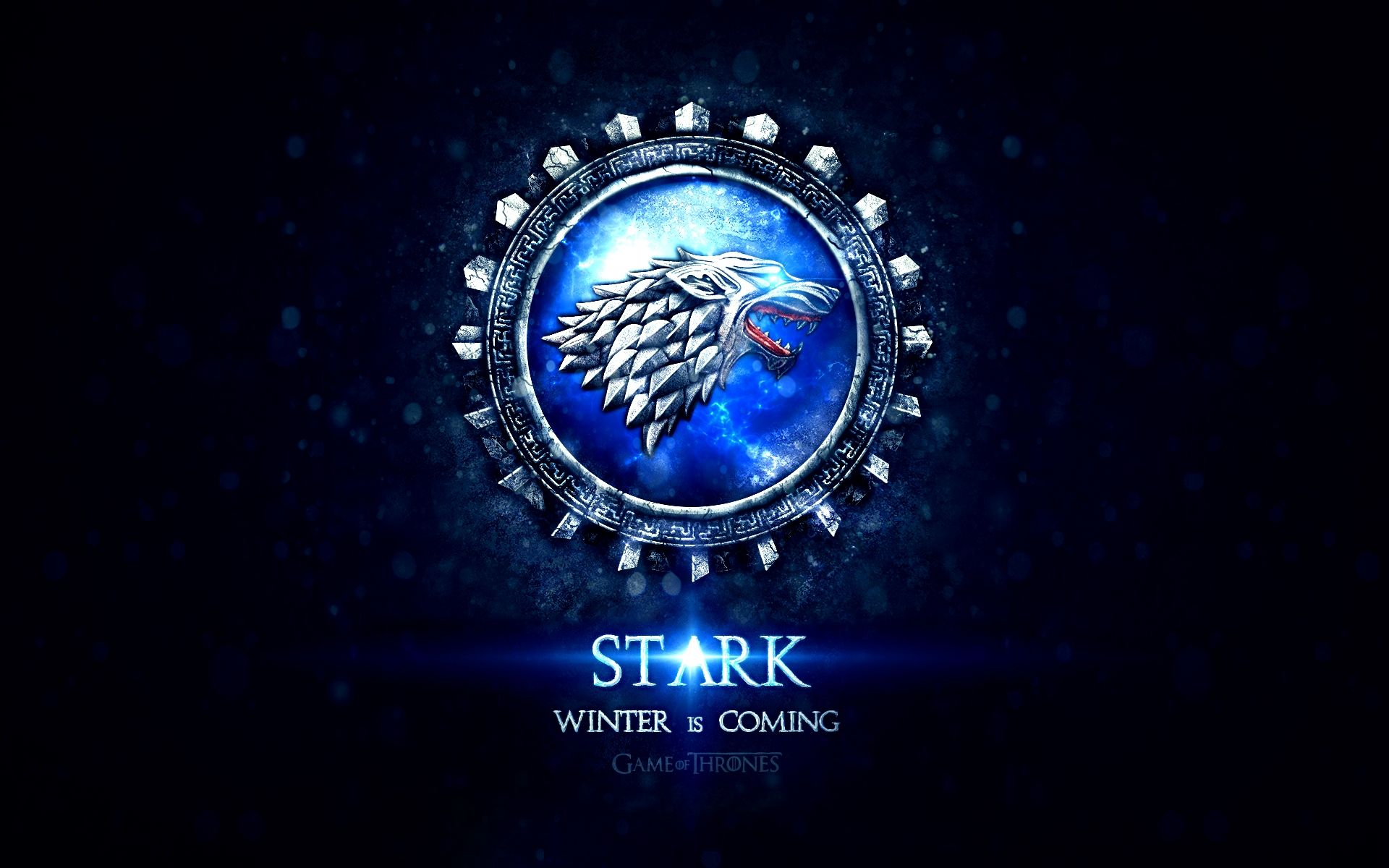 Game of Thrones Blue Sigil House Stark