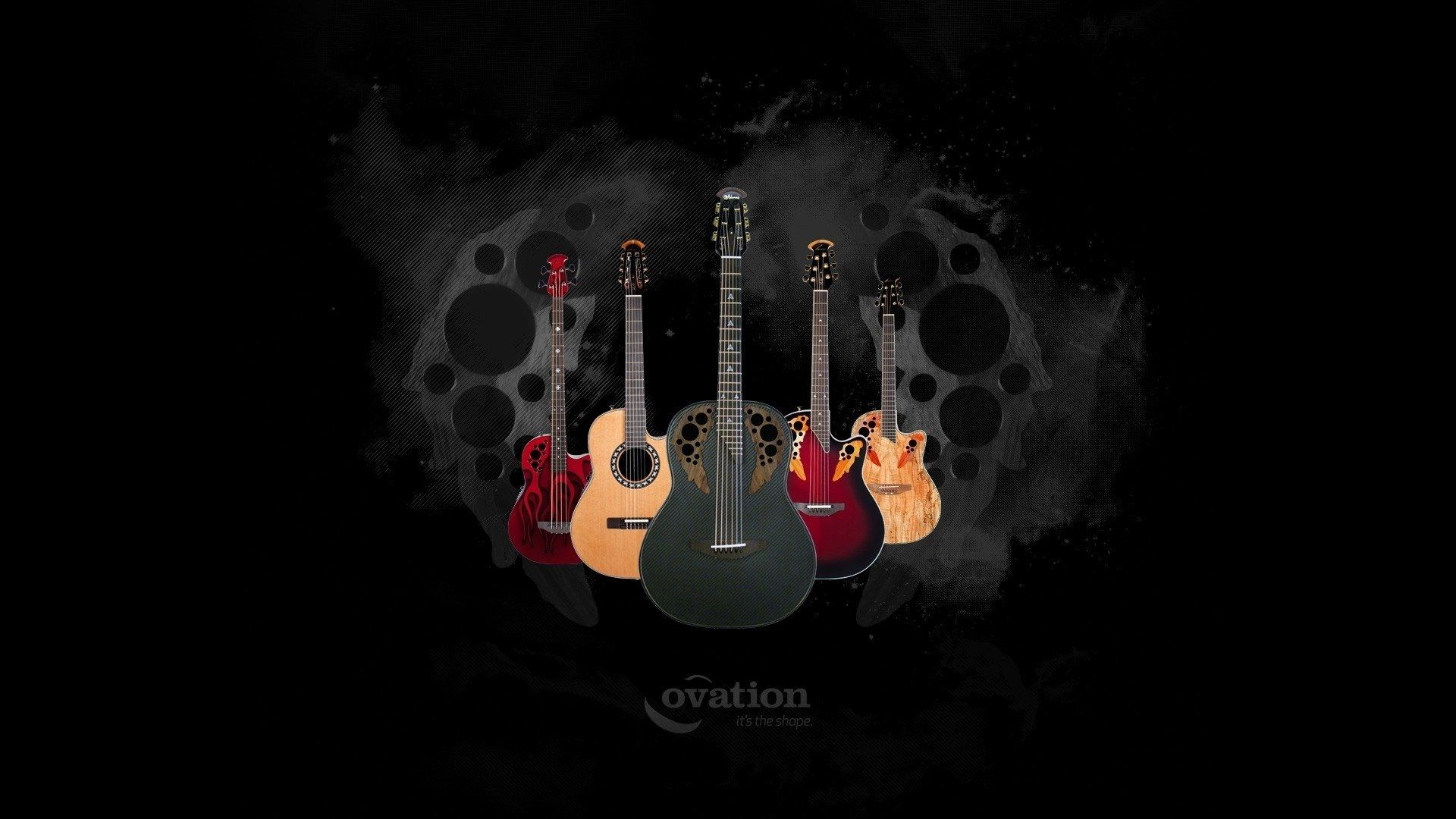 38 Abstract Guitar Wallpapers Wallpaperboat