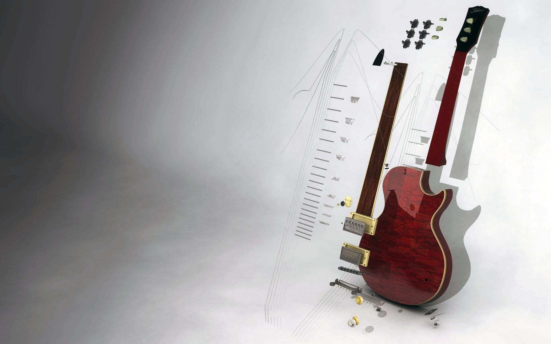 Guitar Abstract, Pic
