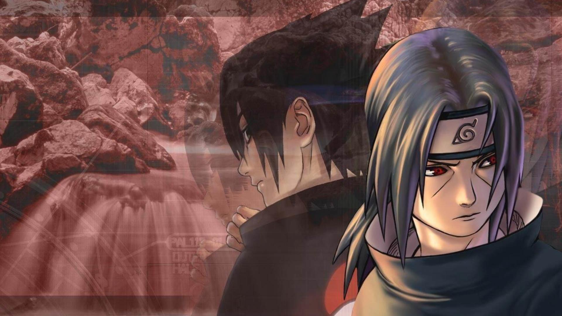 Naruto and Sasuke, Desktop Wallpaper