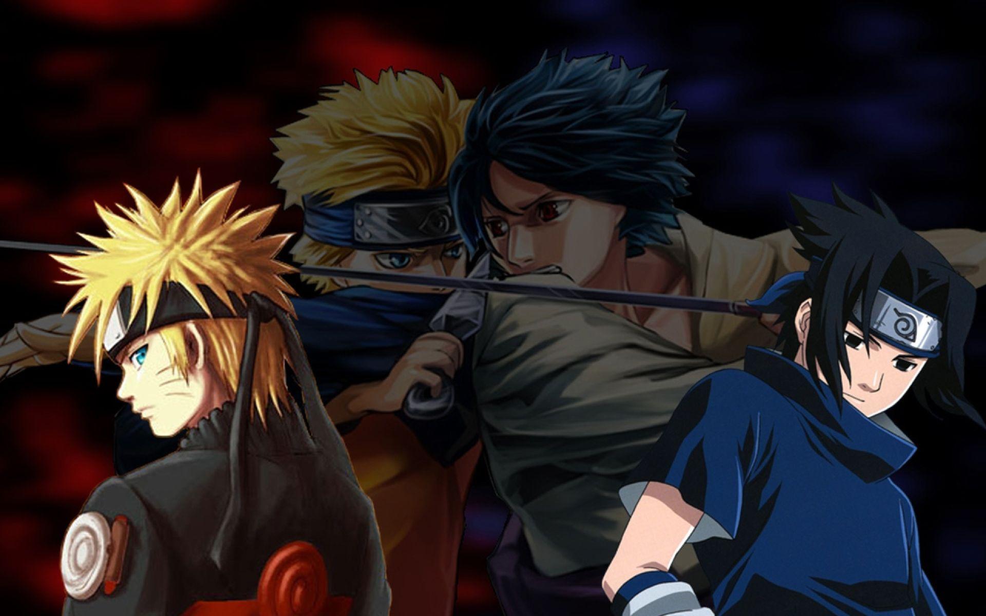 Naruto and Sasuke, Pic