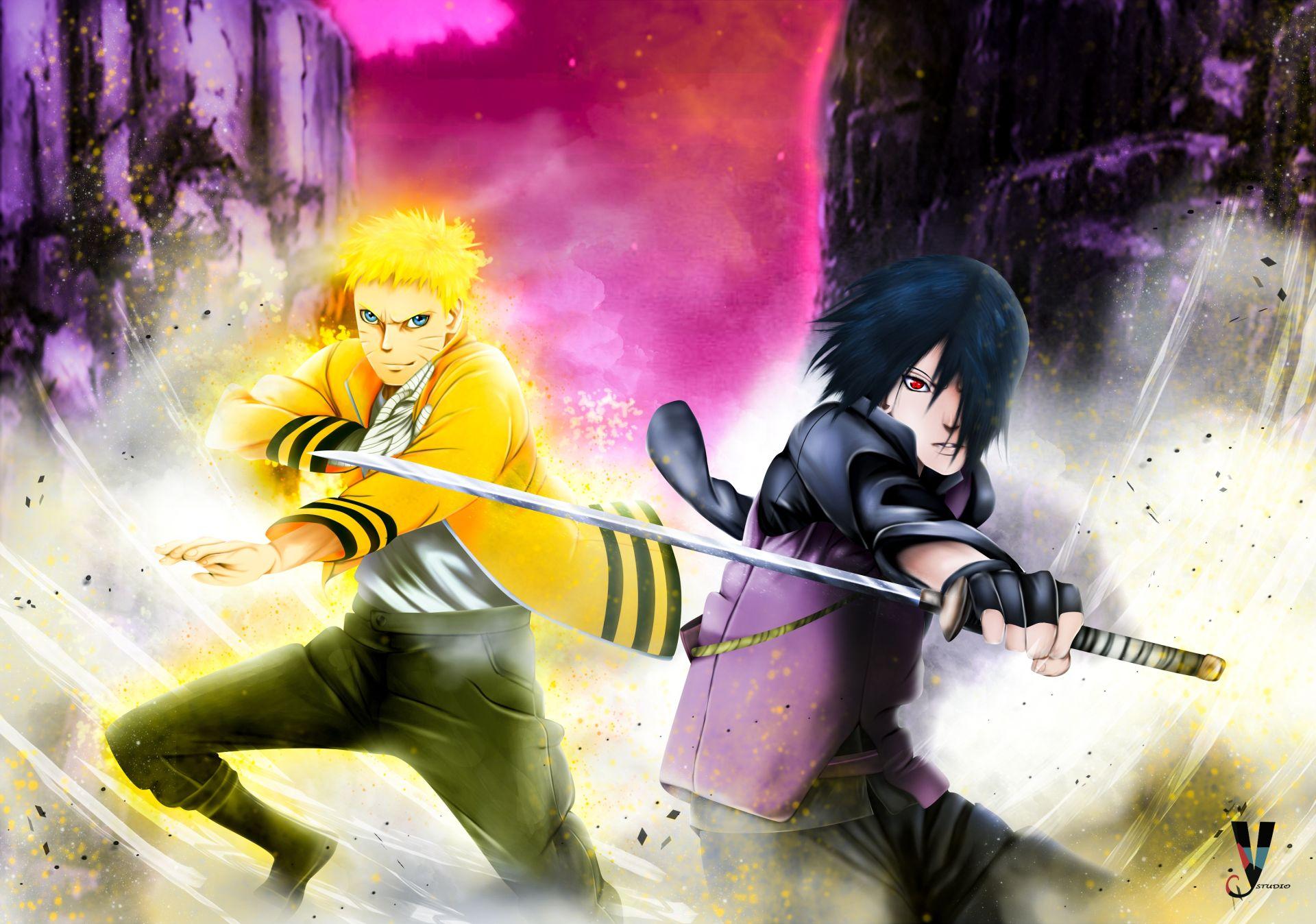 Naruto and Sasuke, Wallpaper Theme