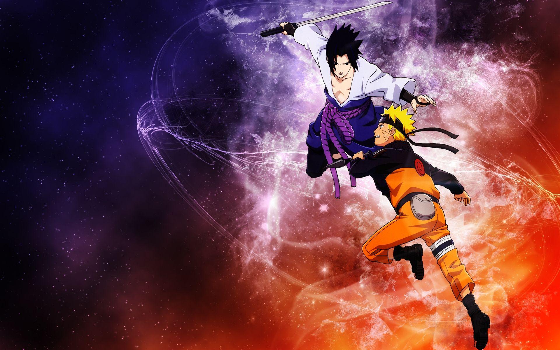 Naruto and Sasuke, Wallpaper Picture