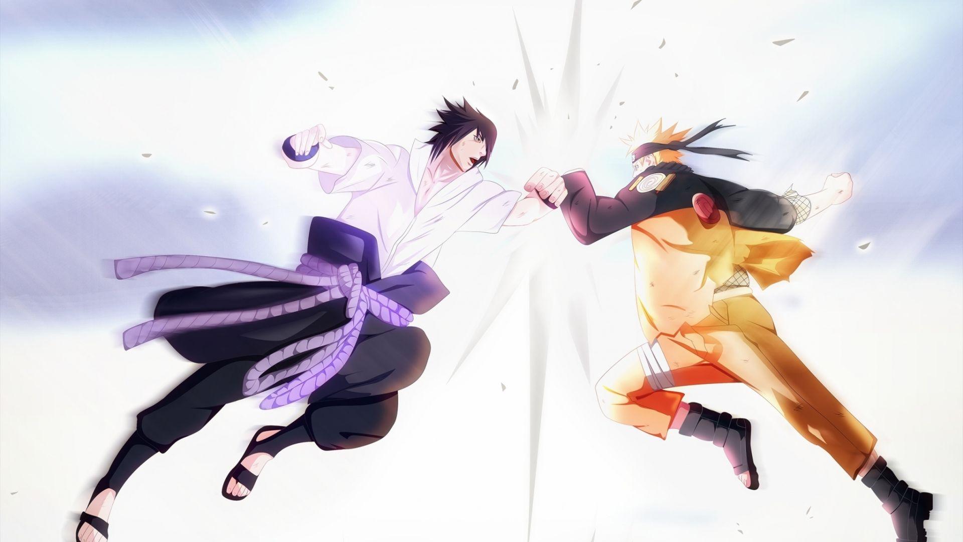 Naruto and Sasuke, Wallpaper
