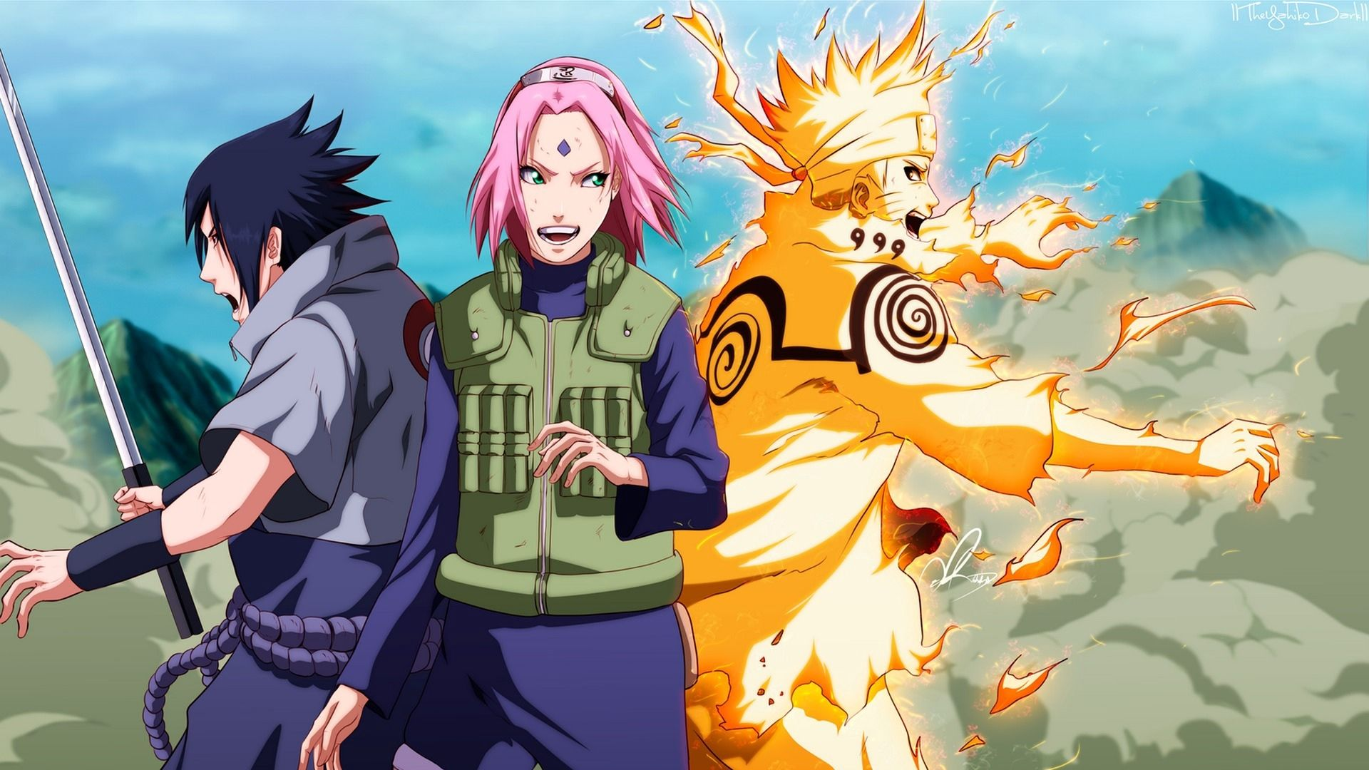 Naruto and Sasuke, Cool Wallpaper