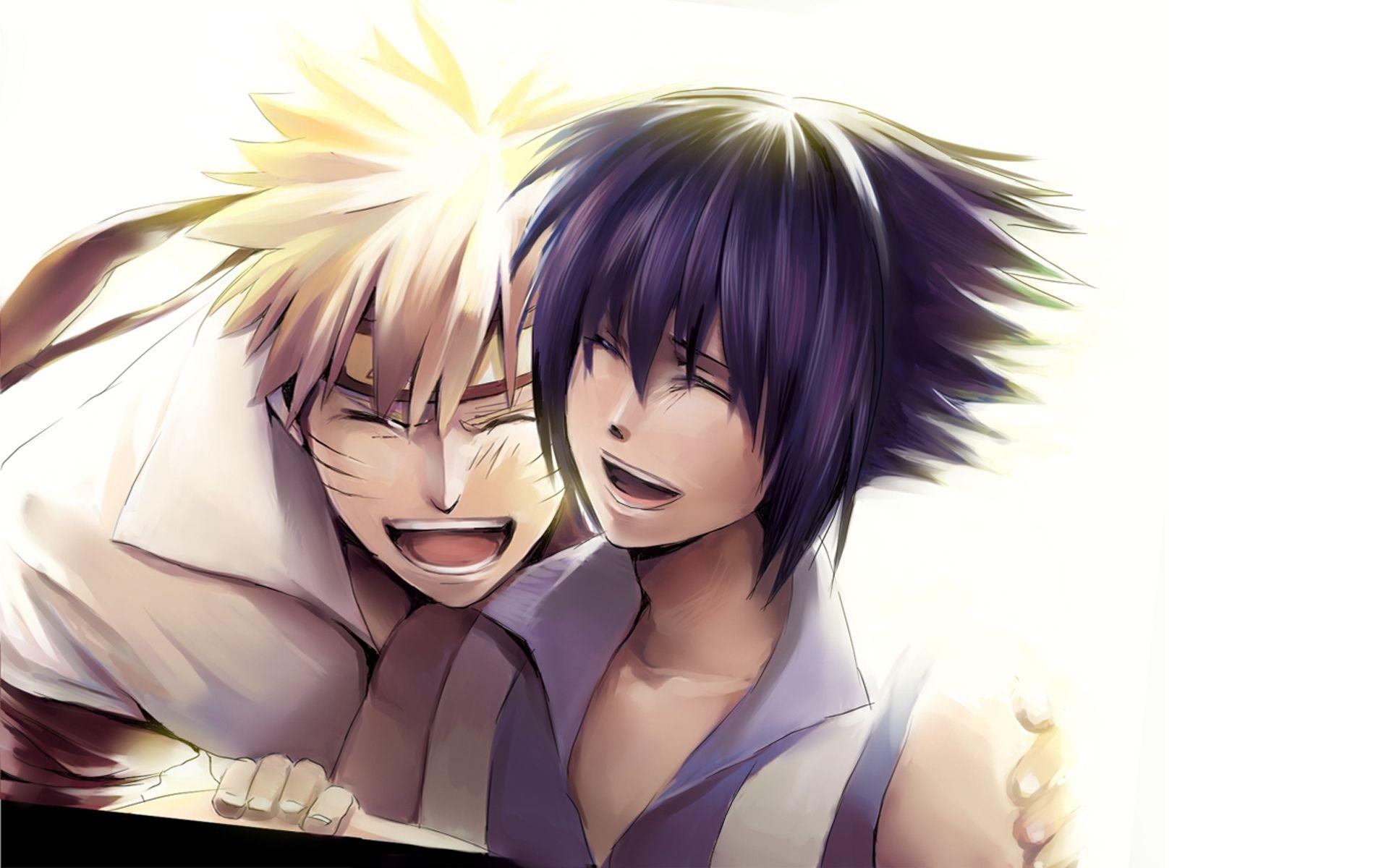Naruto And Sasuke art, Wallpaper Picture