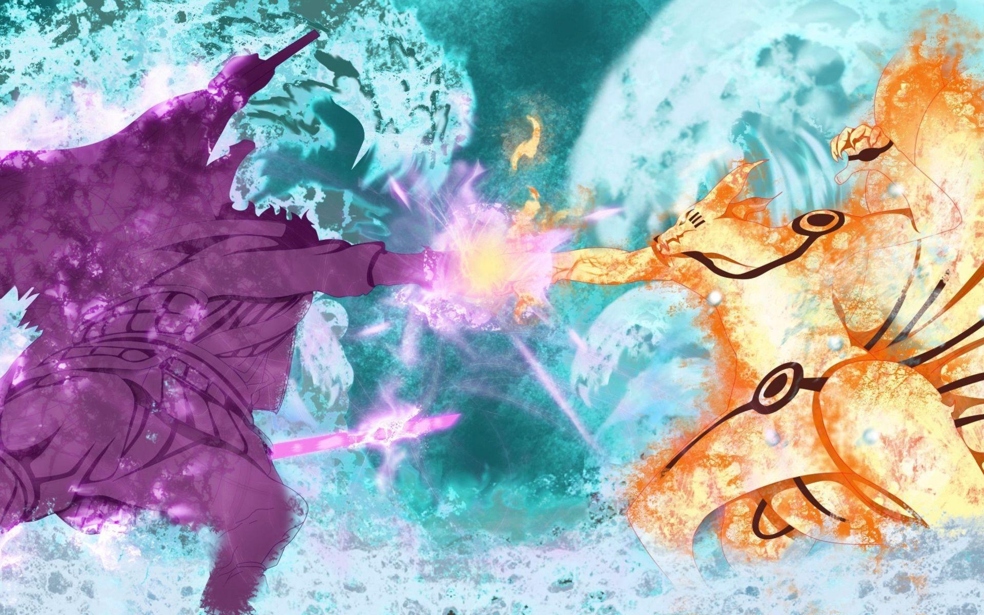 Naruto And Sasuke art, Pic