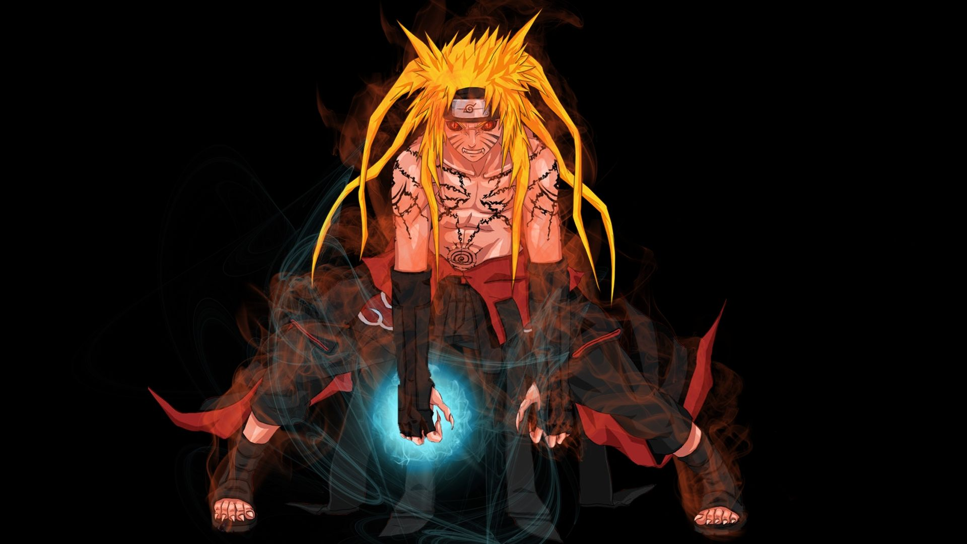 Naruto And Sasuke art, Free Wallpaper