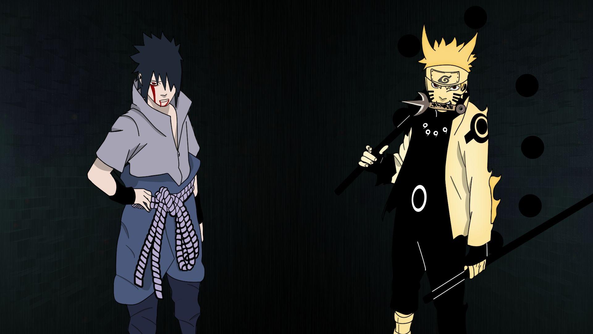 Naruto And Sasuke art, Download Wallpaper