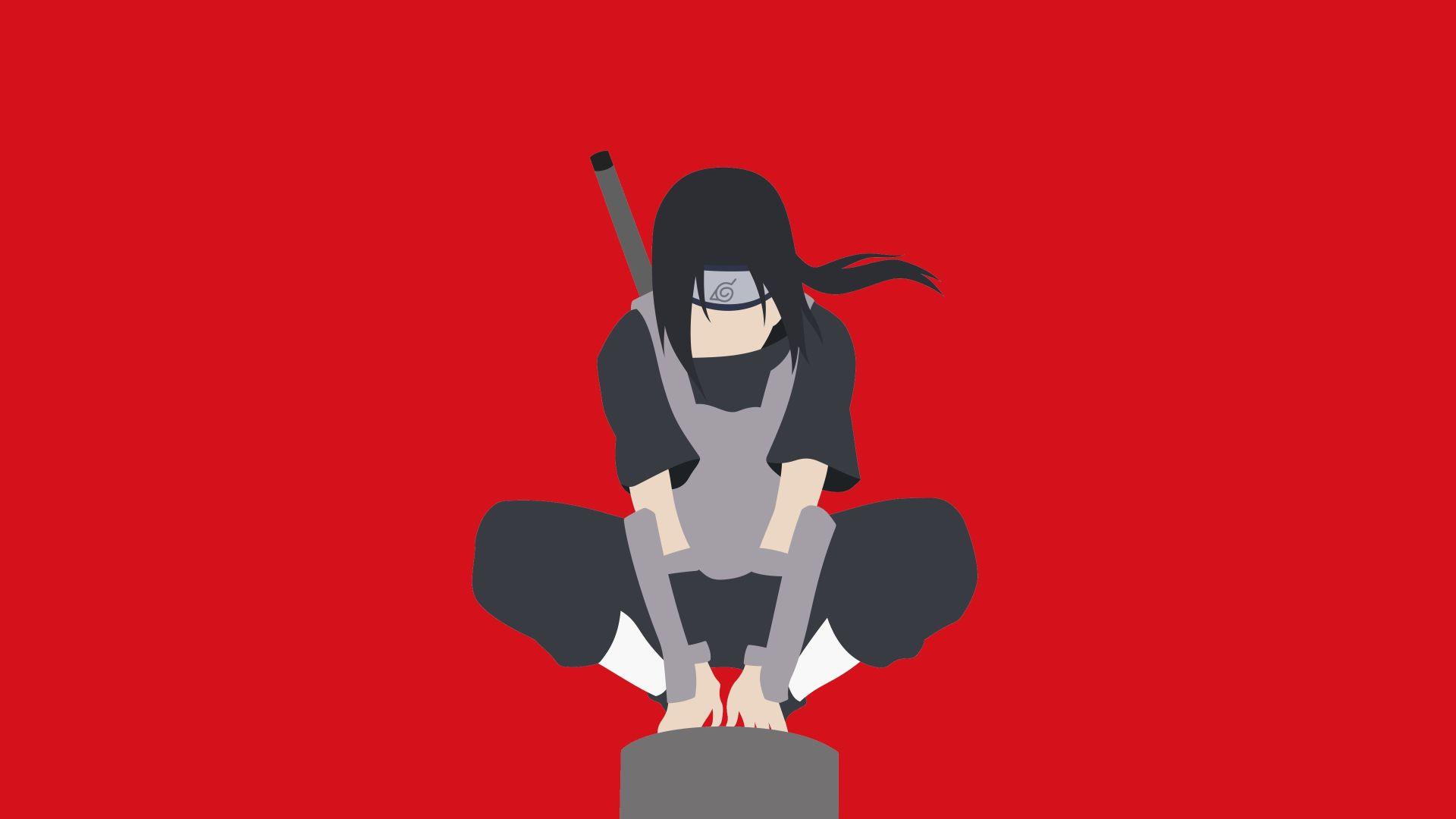 Naruto Minimalist, Wallpaper Theme