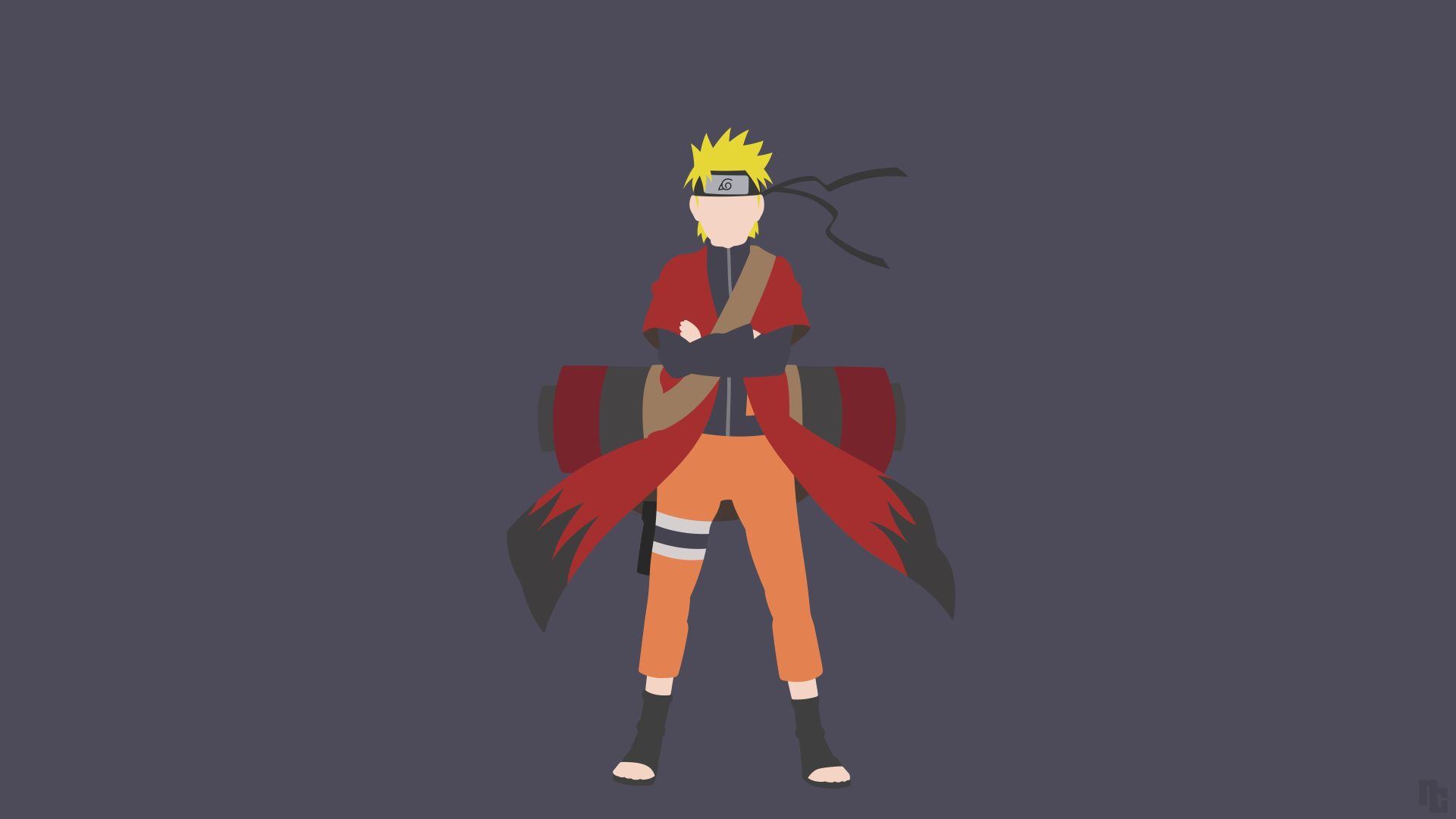 Naruto Minimalist, Nice Wallpaper