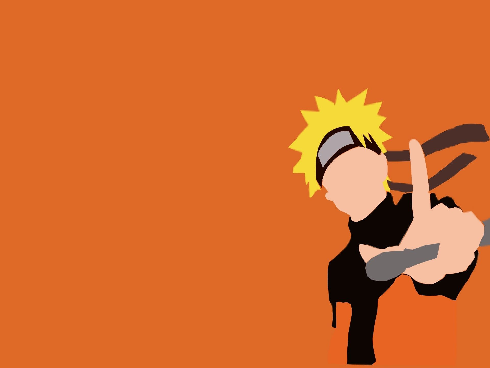 Naruto Minimalist, PC Wallpaper