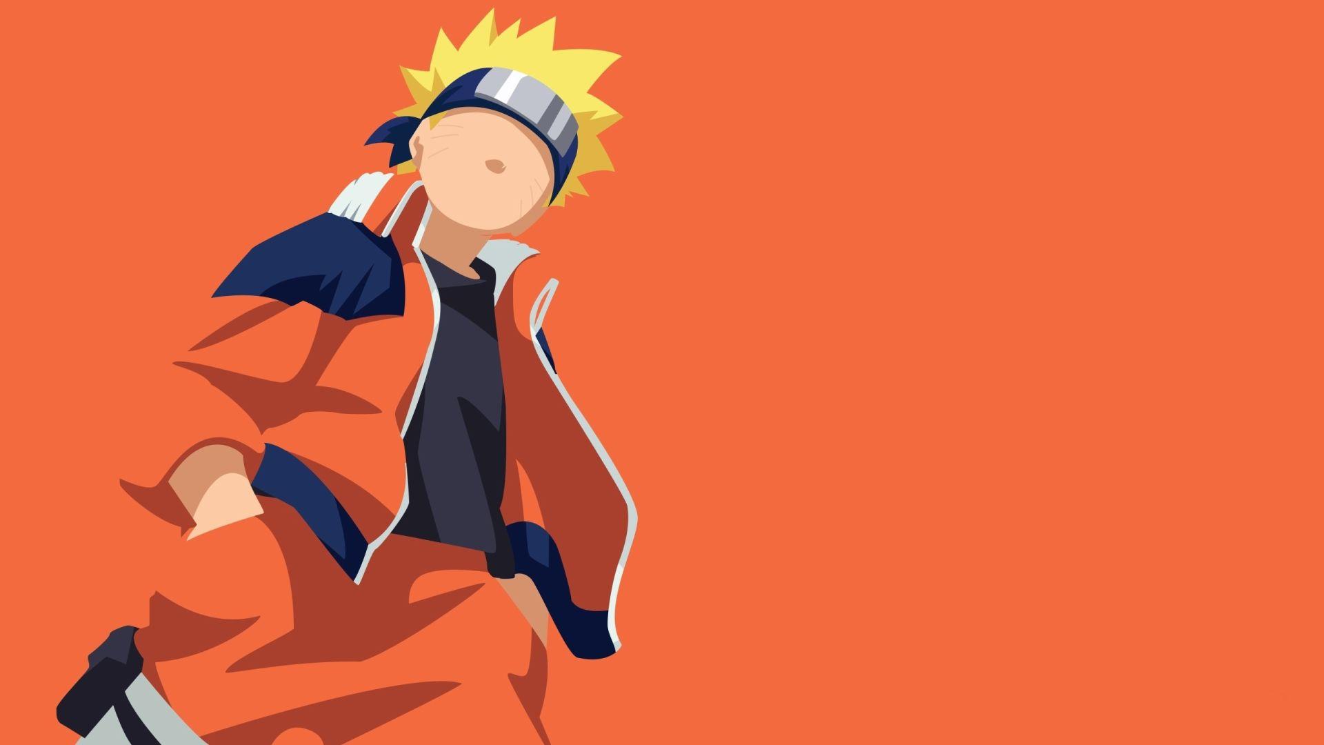 Naruto Minimalist, Computer Wallpaper