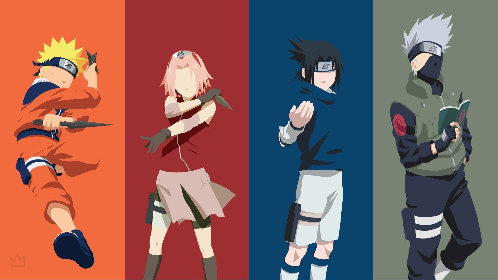 Naruto Minimalist, Free Wallpaper