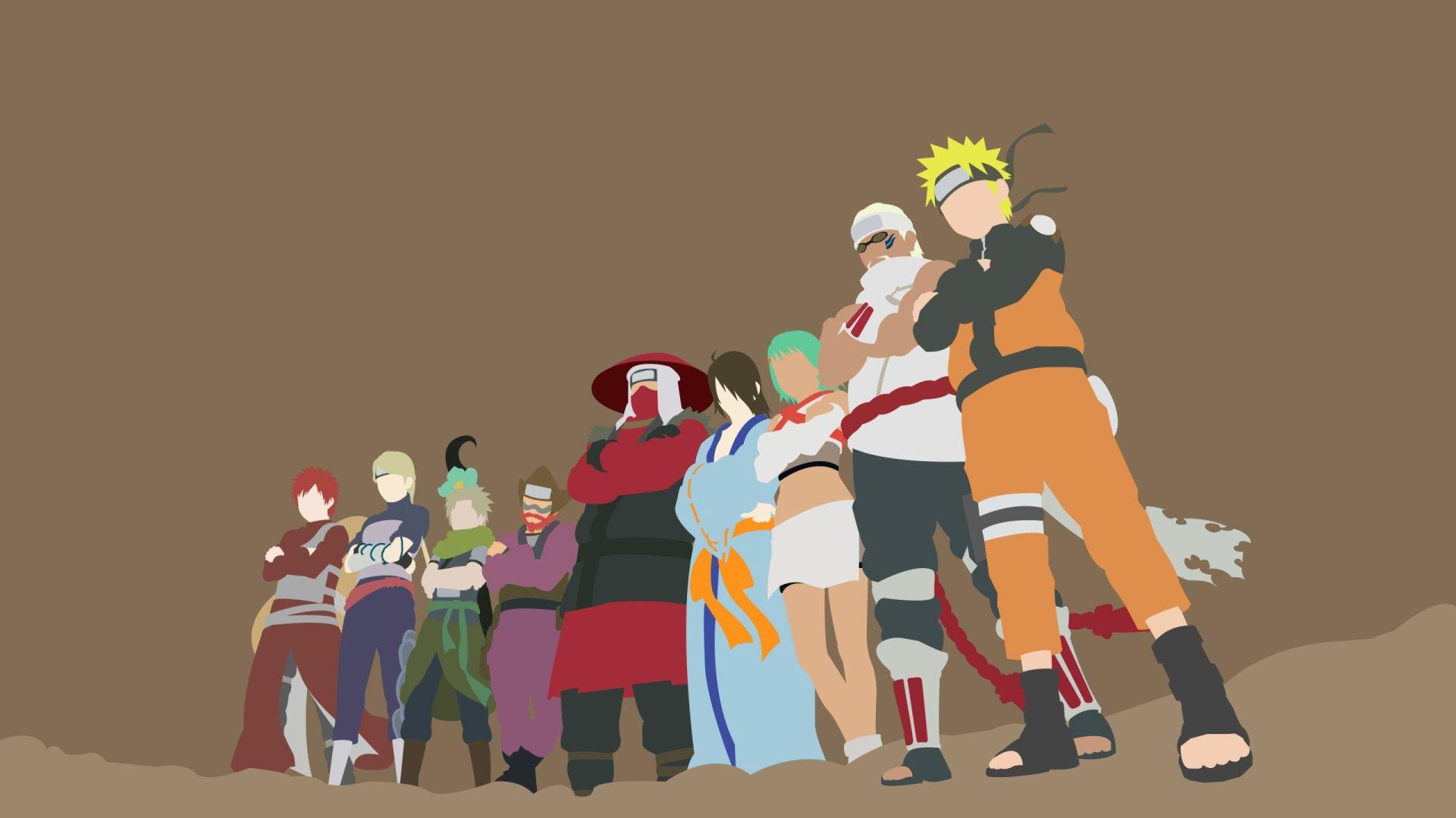 Naruto Minimalist, Pic