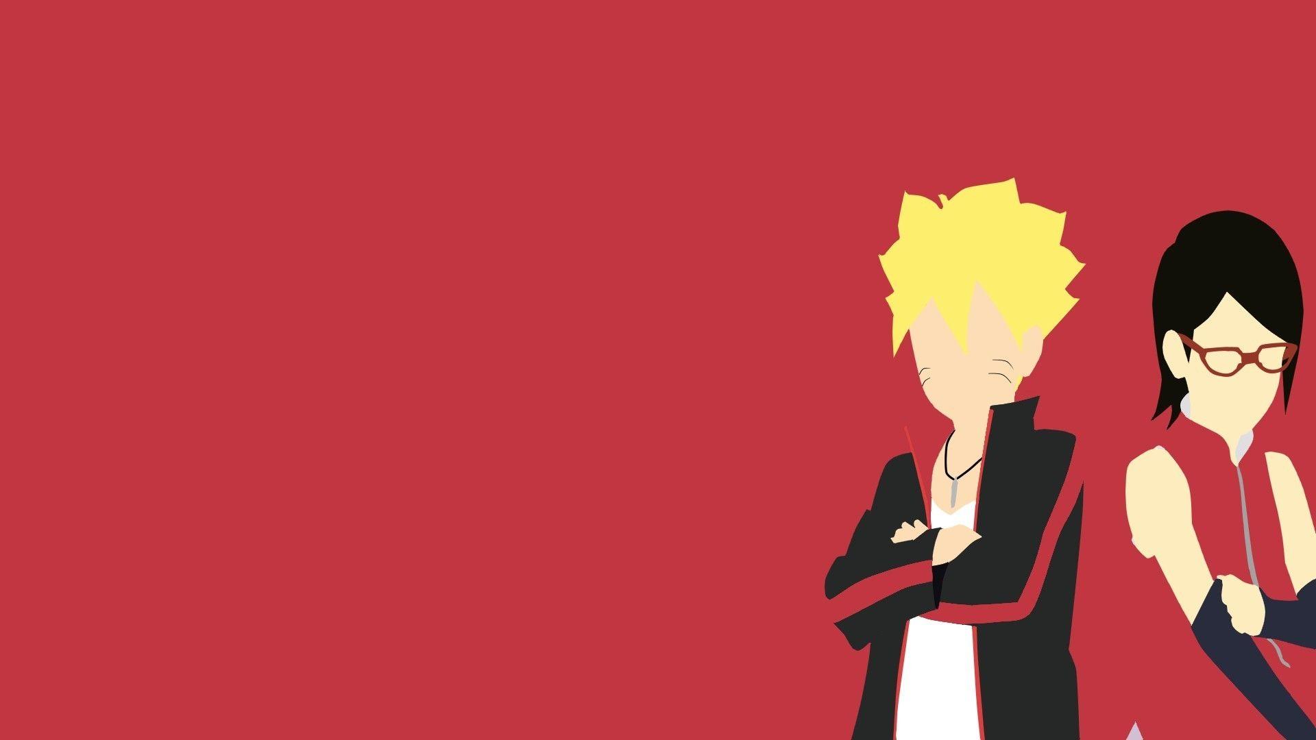 Naruto Minimalist, Wallpaper Image