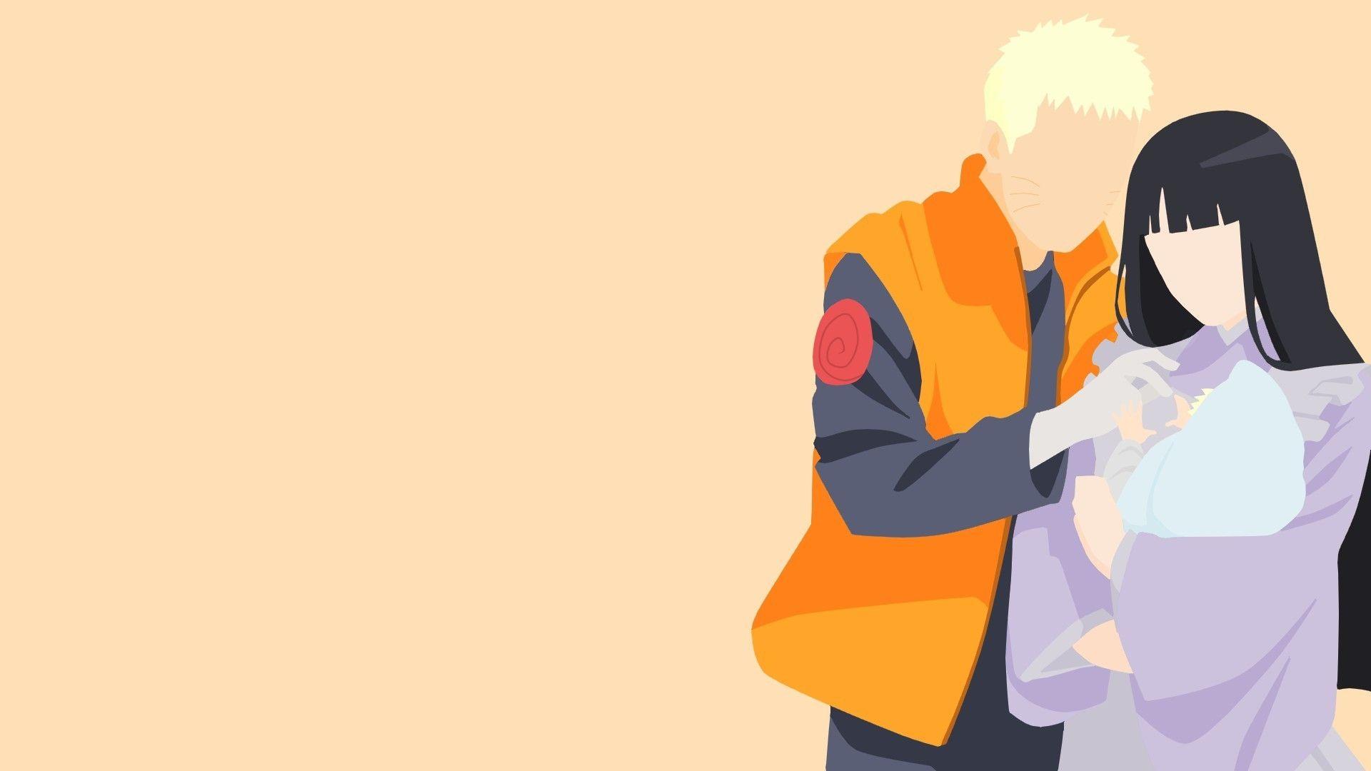 Naruto Minimalist, 1080p Wallpaper
