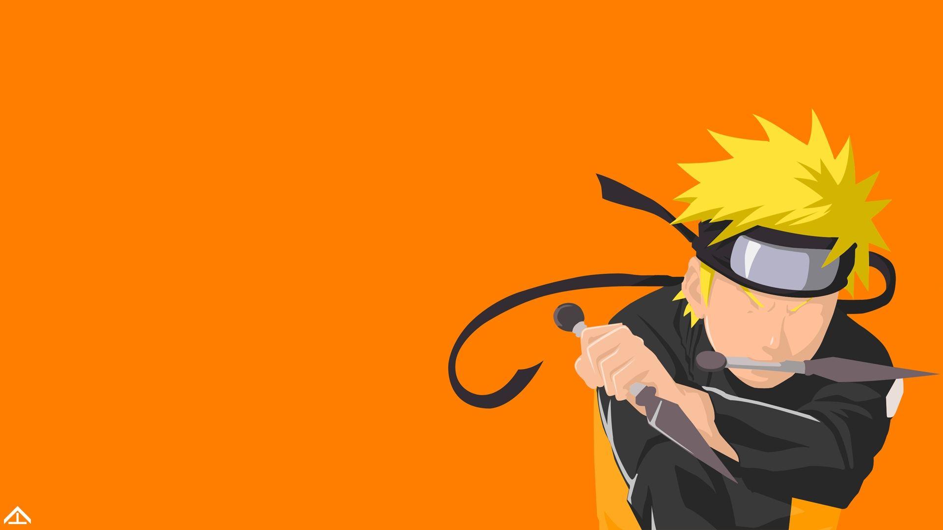 Naruto Minimalist, HD Wallpaper