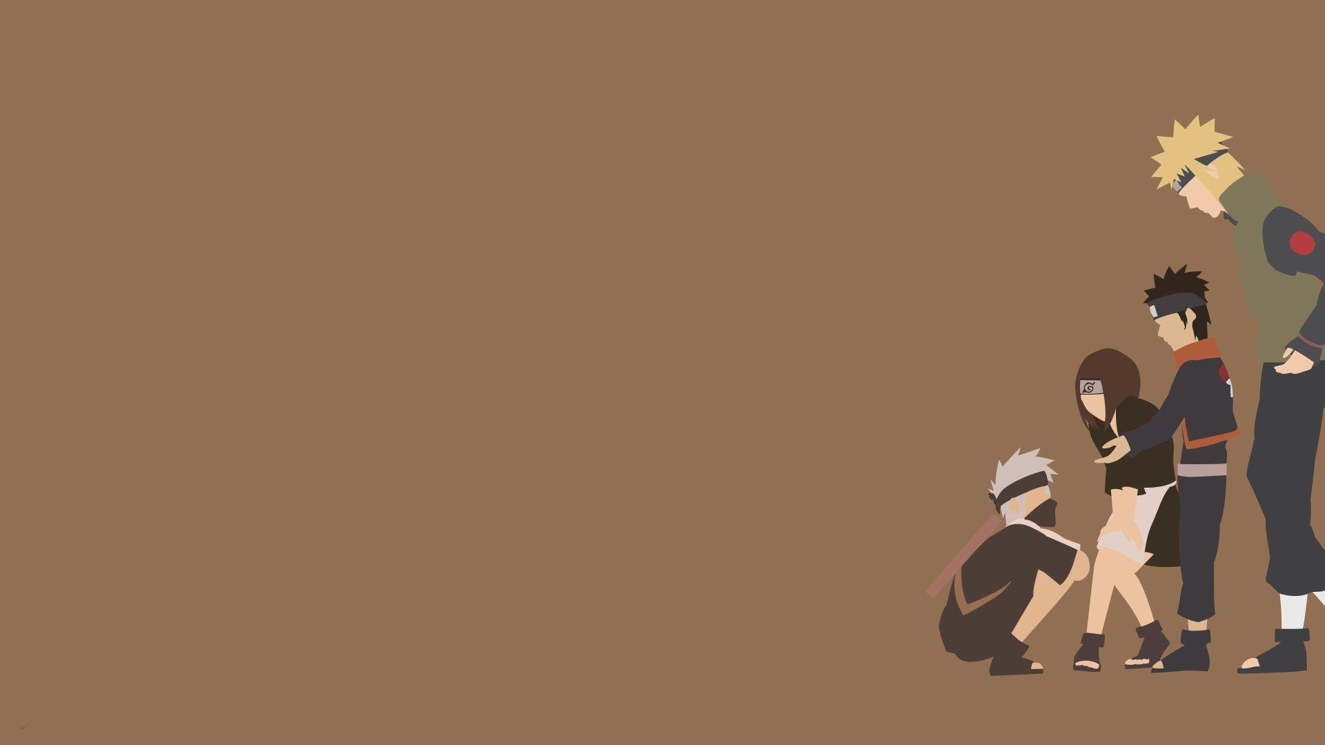 Naruto Minimalist, Wallpaper and Background