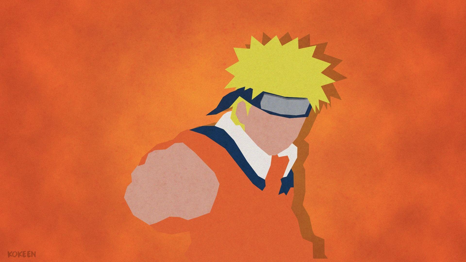 Naruto Minimalist, Cool Wallpaper