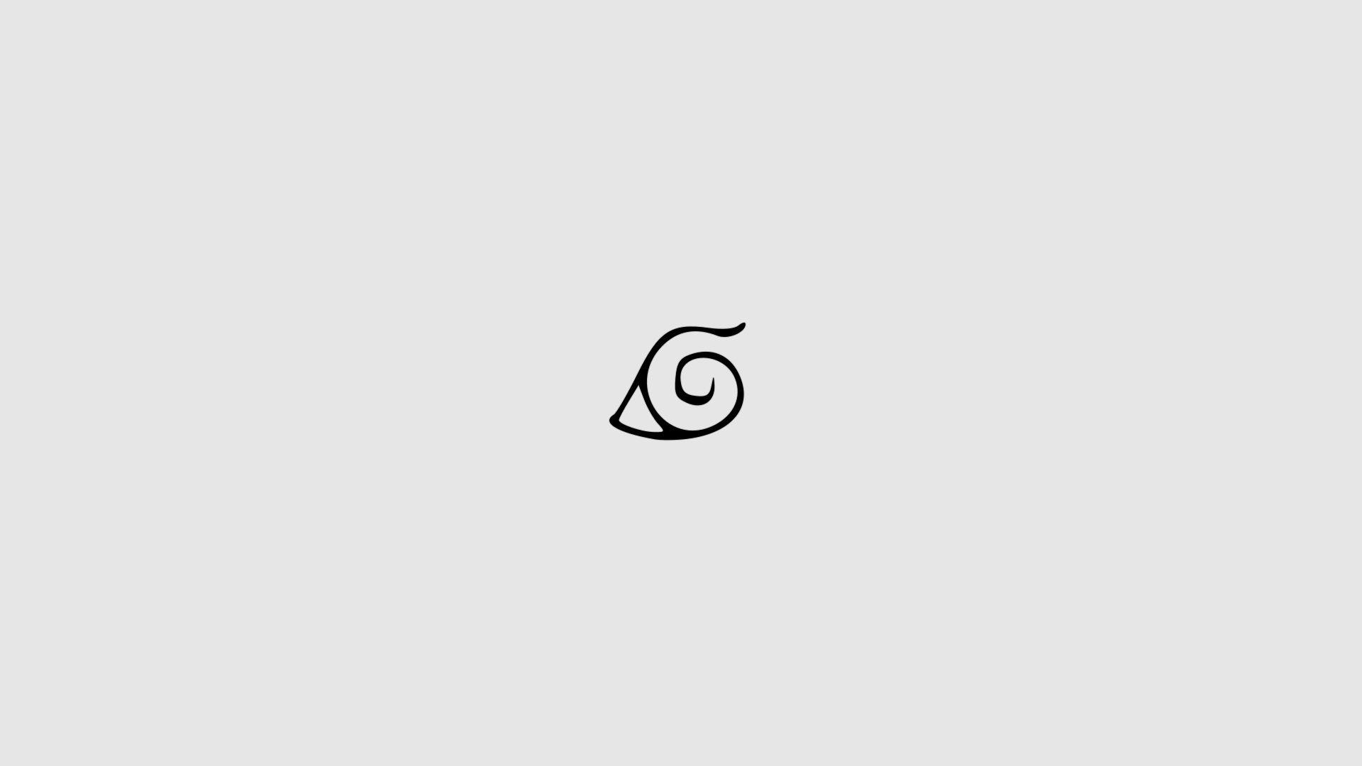 Naruto Minimalist, Wallpaper
