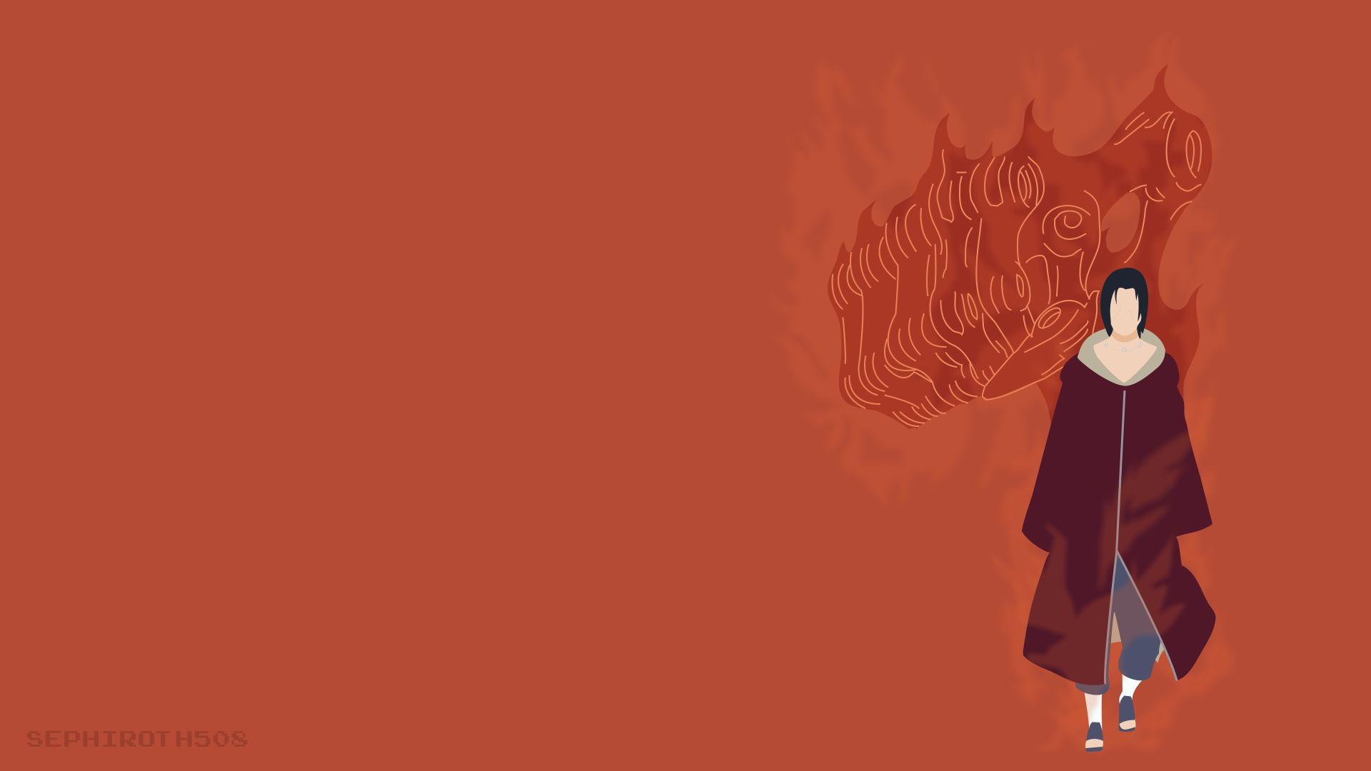 Naruto Minimalist, PC Wallpaper HD