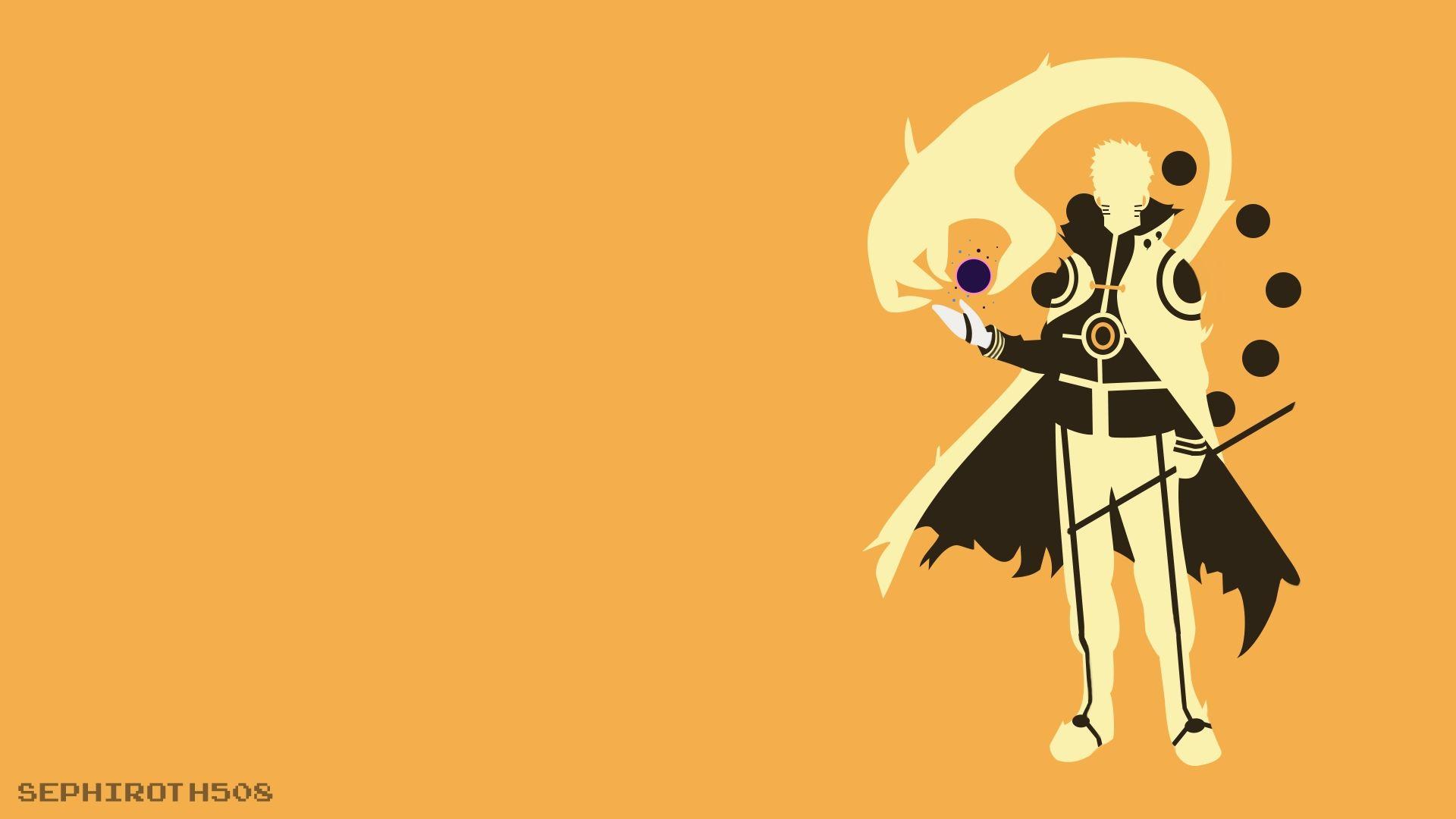 Naruto Minimalist, Download Wallpaper