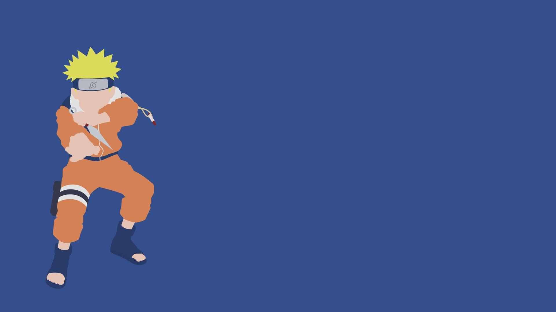 Naruto Minimalist, Free Wallpaper and Background