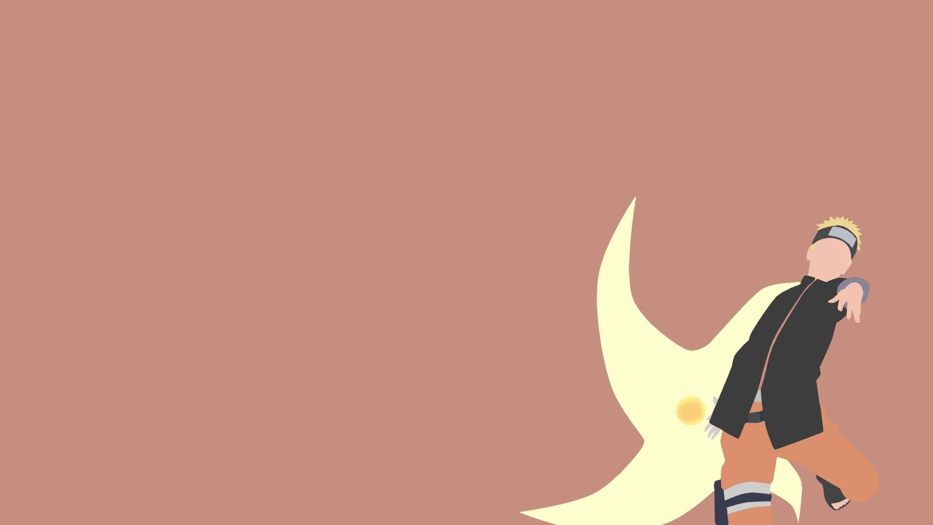 Naruto Minimalist, Background Wallpaper