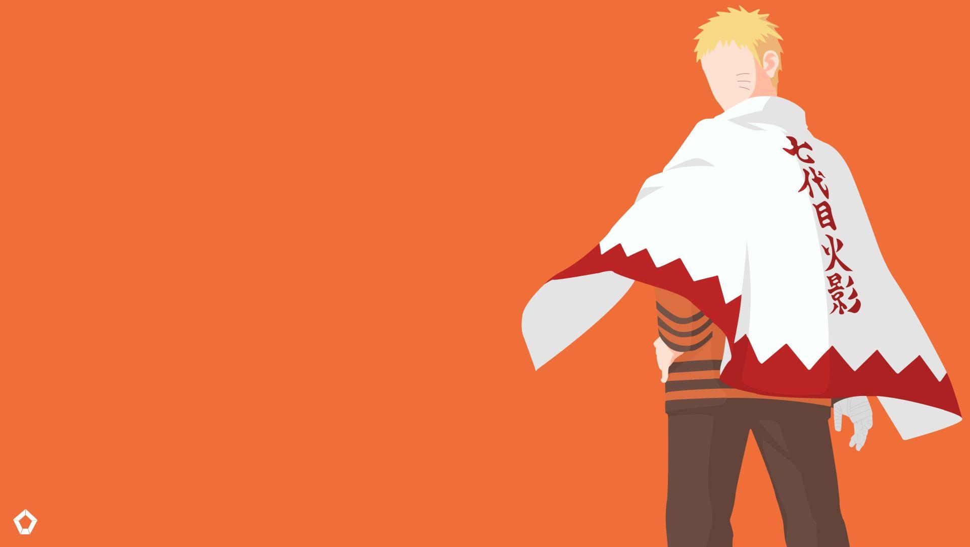 Naruto Minimalist, HD Desktop Wallpaper