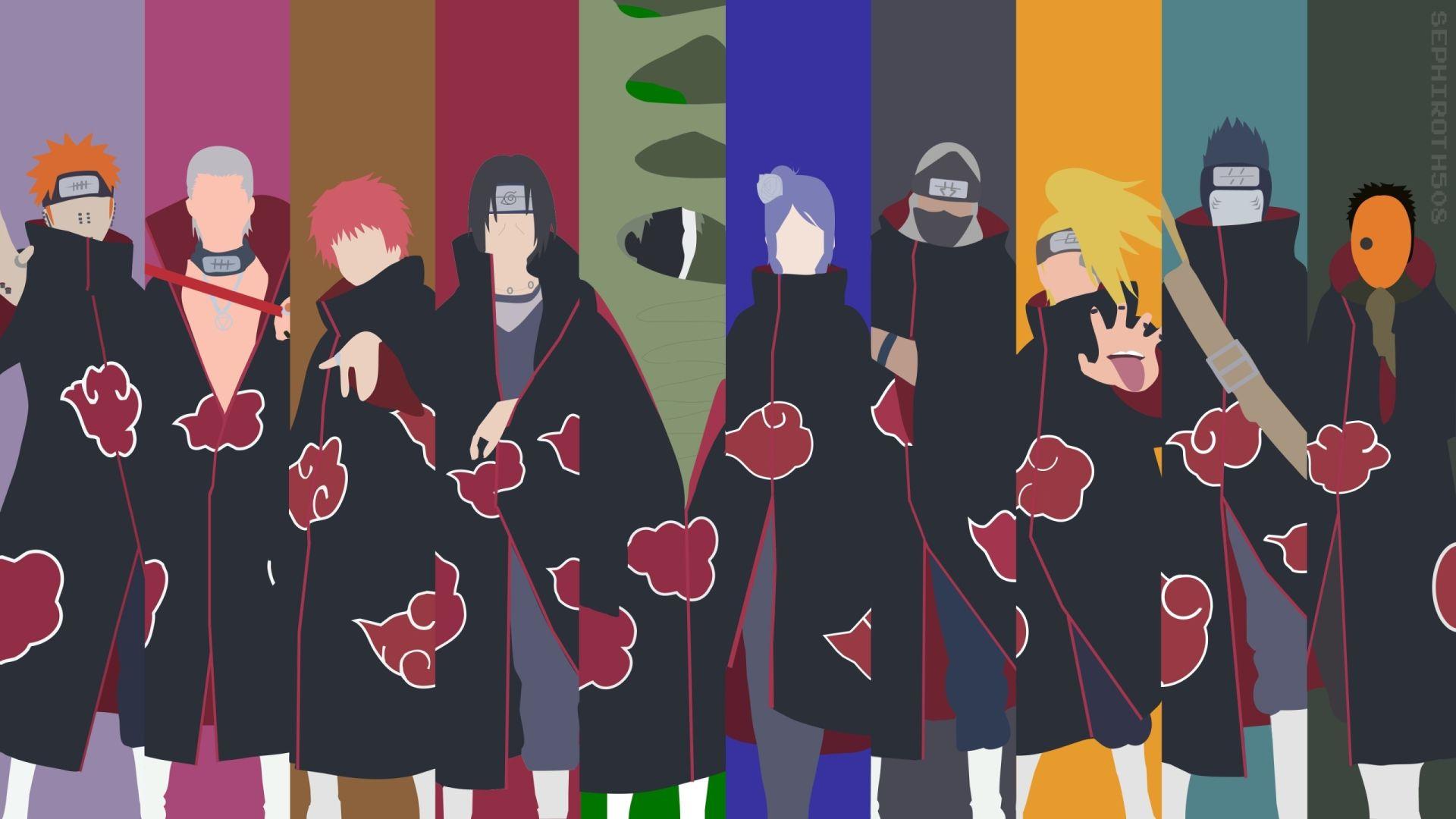 Naruto, Background Wallpaper HD